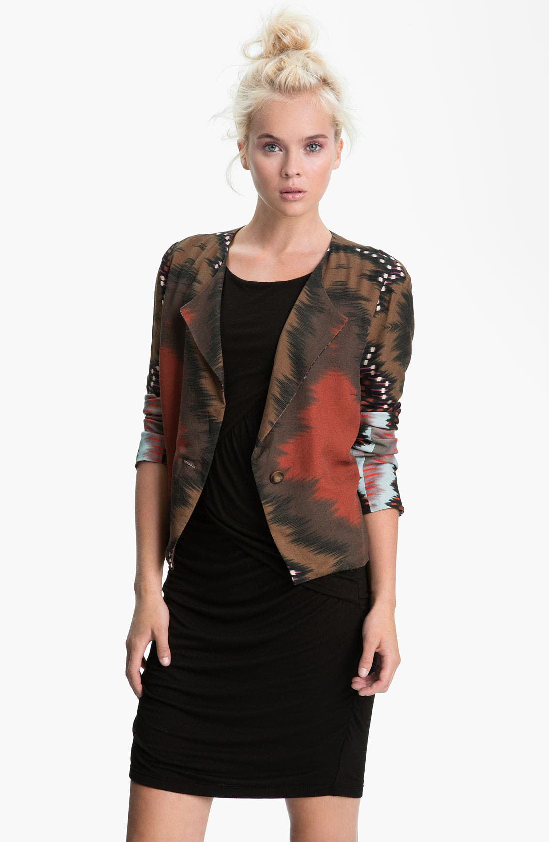 Alternate Image 1 Selected - Sanctuary 'Mongolian' Print Blazer