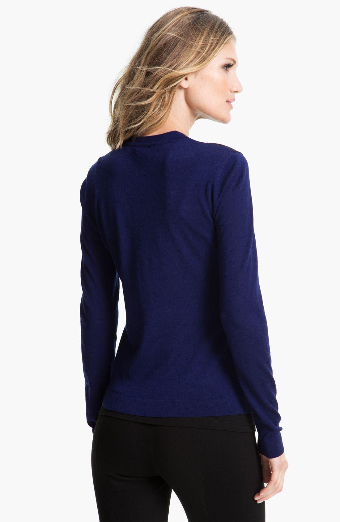 Alternate Image 2  - Elie Tahari Exclusive for Nordstrom 'Yarden' Sweater