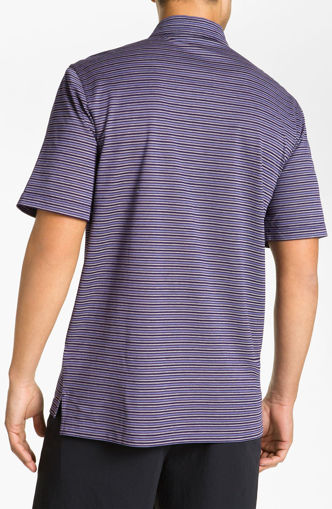 Alternate Image 3  - Bobby Jones Stripe Piqué Polo