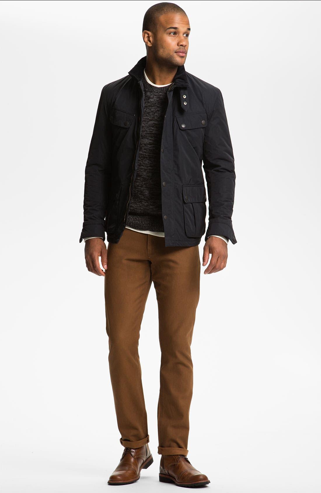 Alternate Image 4  - Calibrate 'Witkin' Cotton & Cashmere Crewneck Sweater