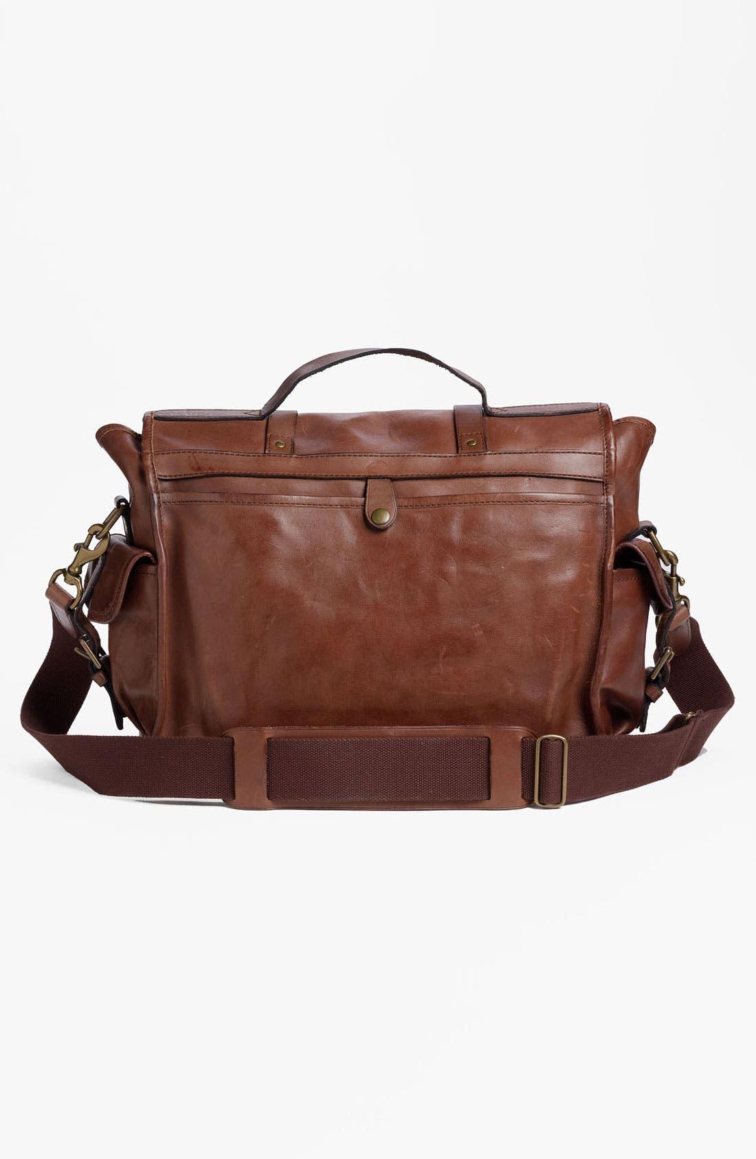 Alternate Image 4  - Polo Ralph Lauren Leather Briefcase