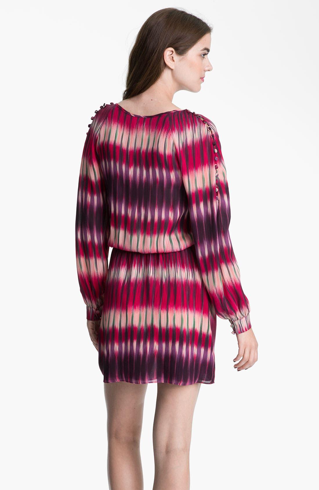 Alternate Image 2  - Parker Faux Wrap Silk Georgette Dress