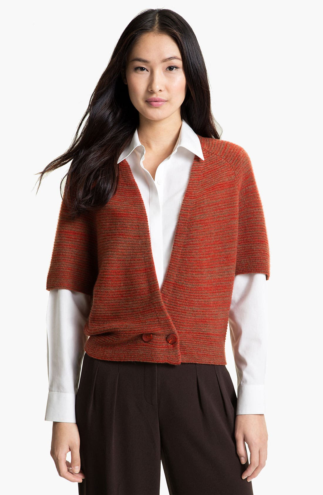 Alternate Image 1 Selected - Nordstrom Collection Cashmere Shrug