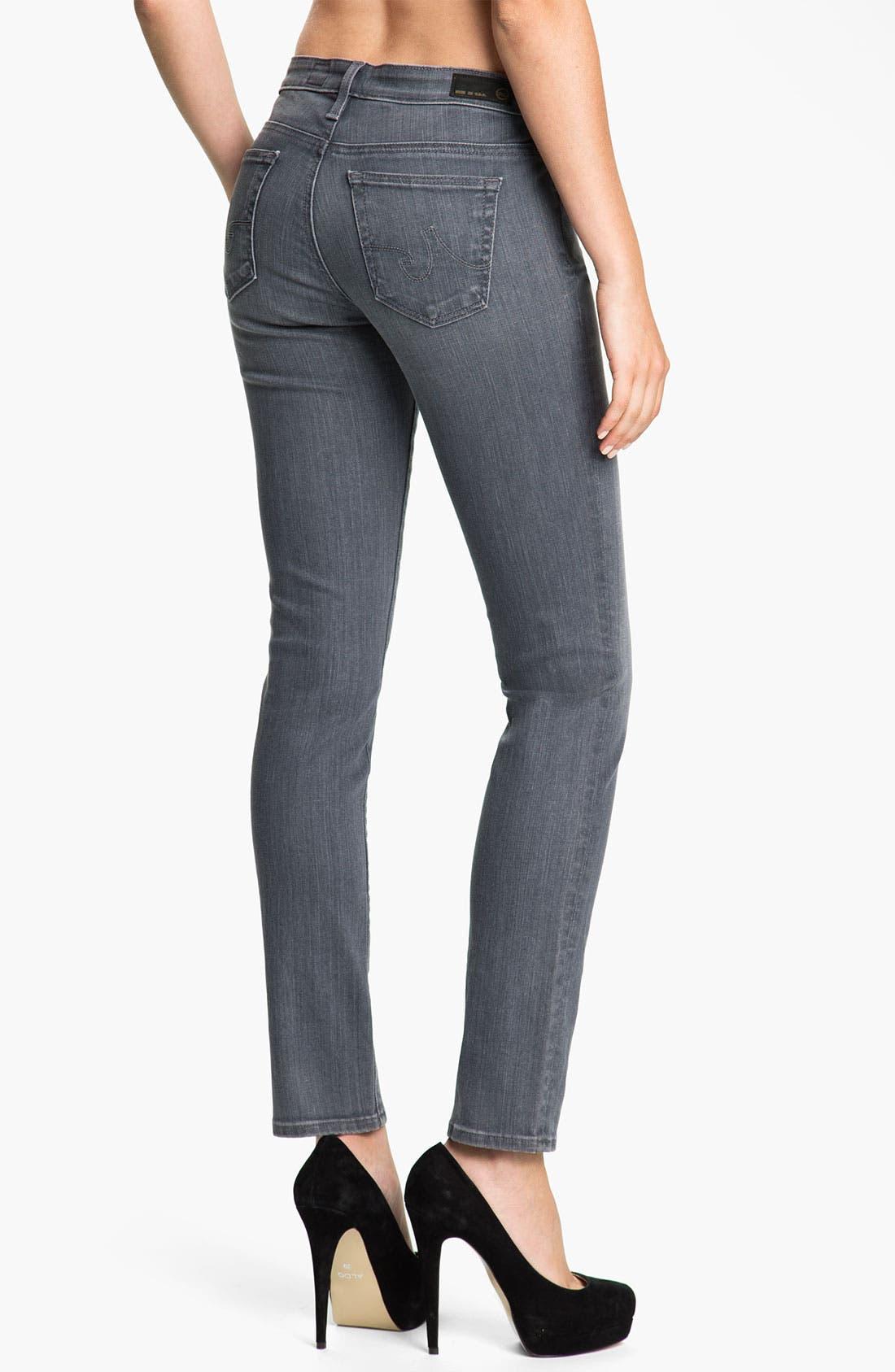 Alternate Image 2  - AG Jeans 'Stilt' Cigarette Leg Jeans (Studio Grey)