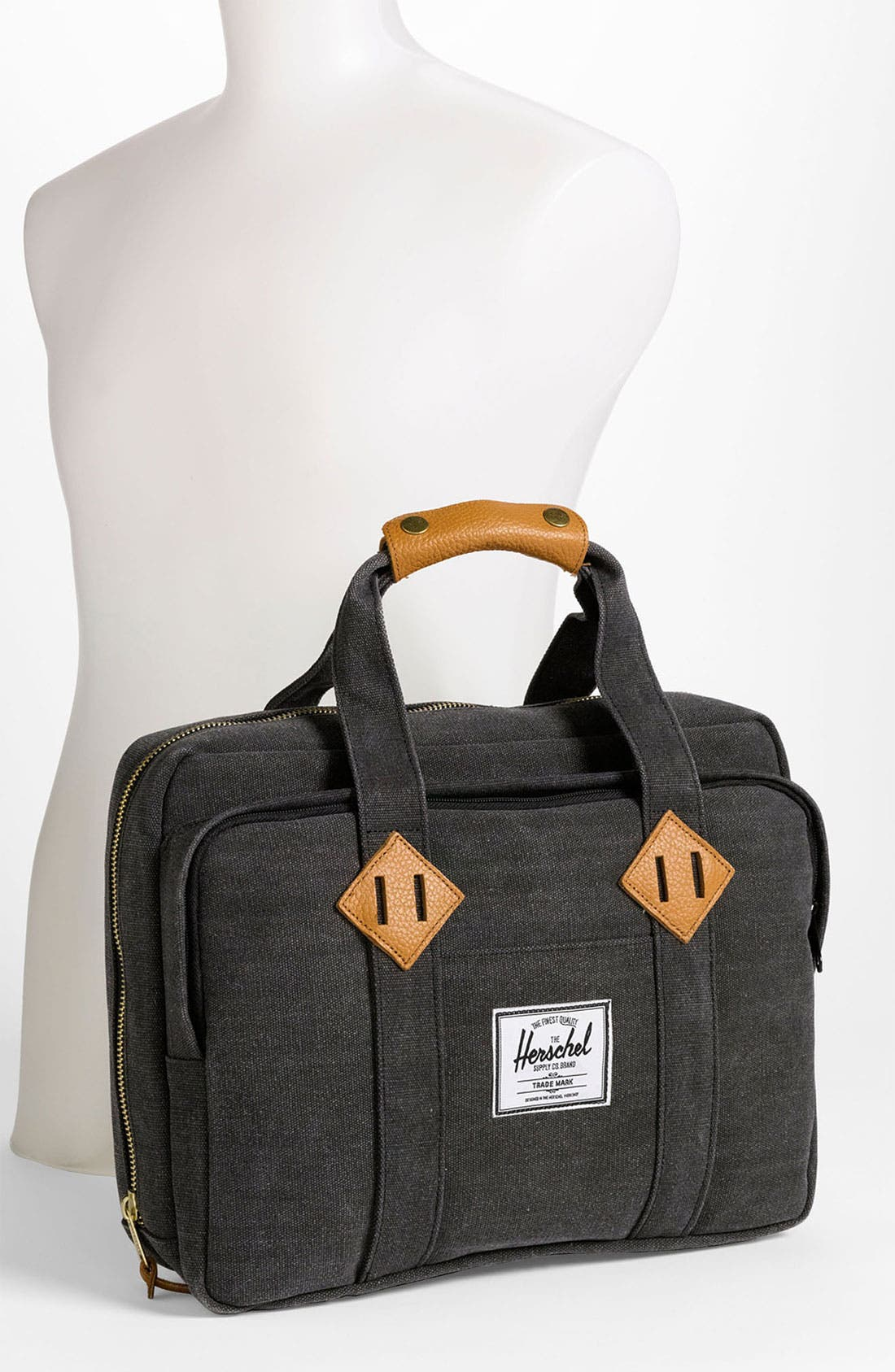 Alternate Image 2  - Herschel Supply Co. 'Oak' Cotton Canvas Laptop Briefcase
