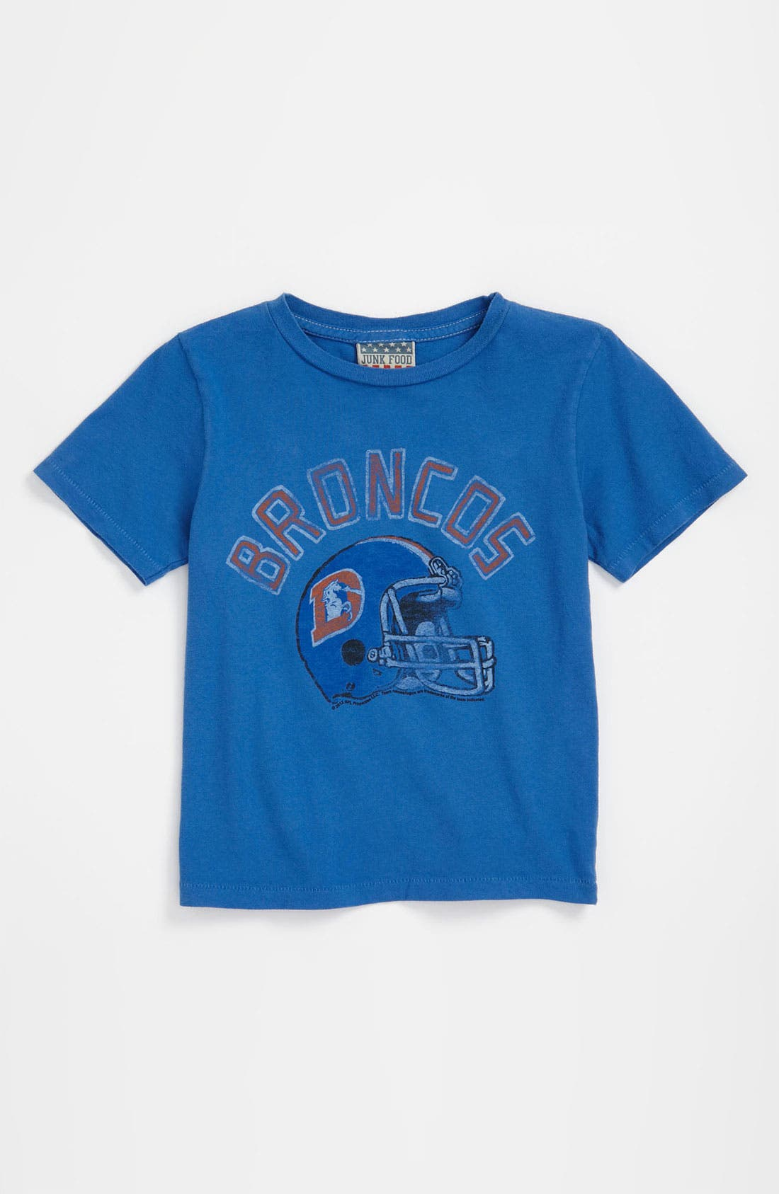 Alternate Image 1 Selected - Junk Food 'Denver Broncos' T-Shirt (Infant)
