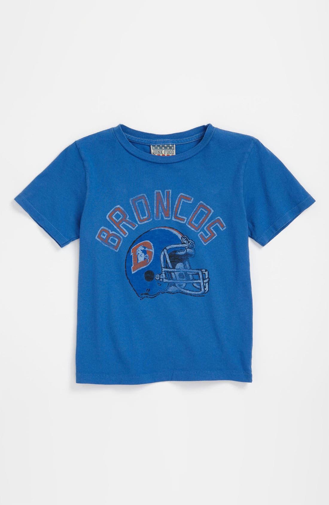 Main Image - Junk Food 'Denver Broncos' T-Shirt (Infant)