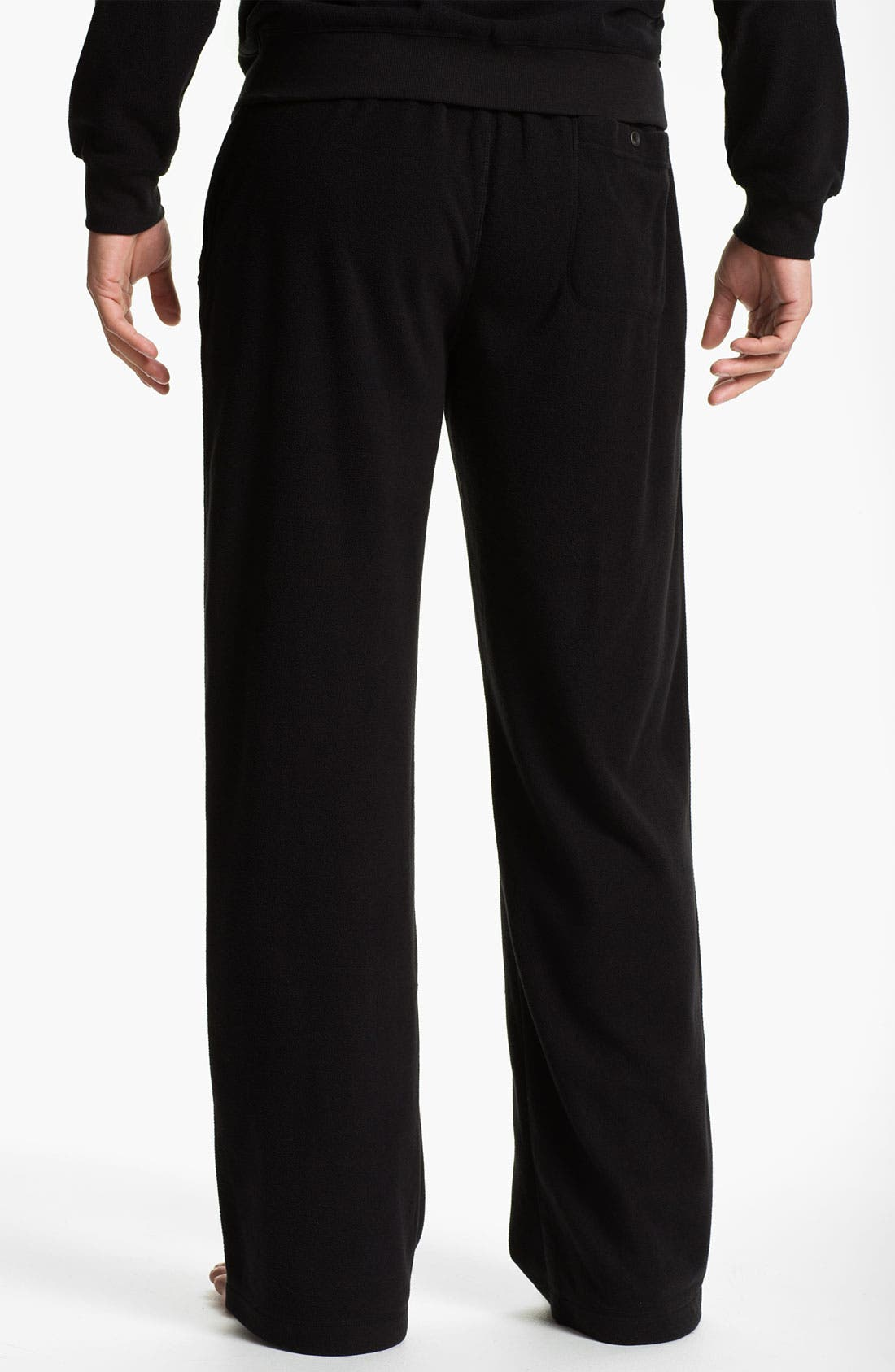 Alternate Image 2  - Daniel Buchler Lightweight Fleece Lounge Pants