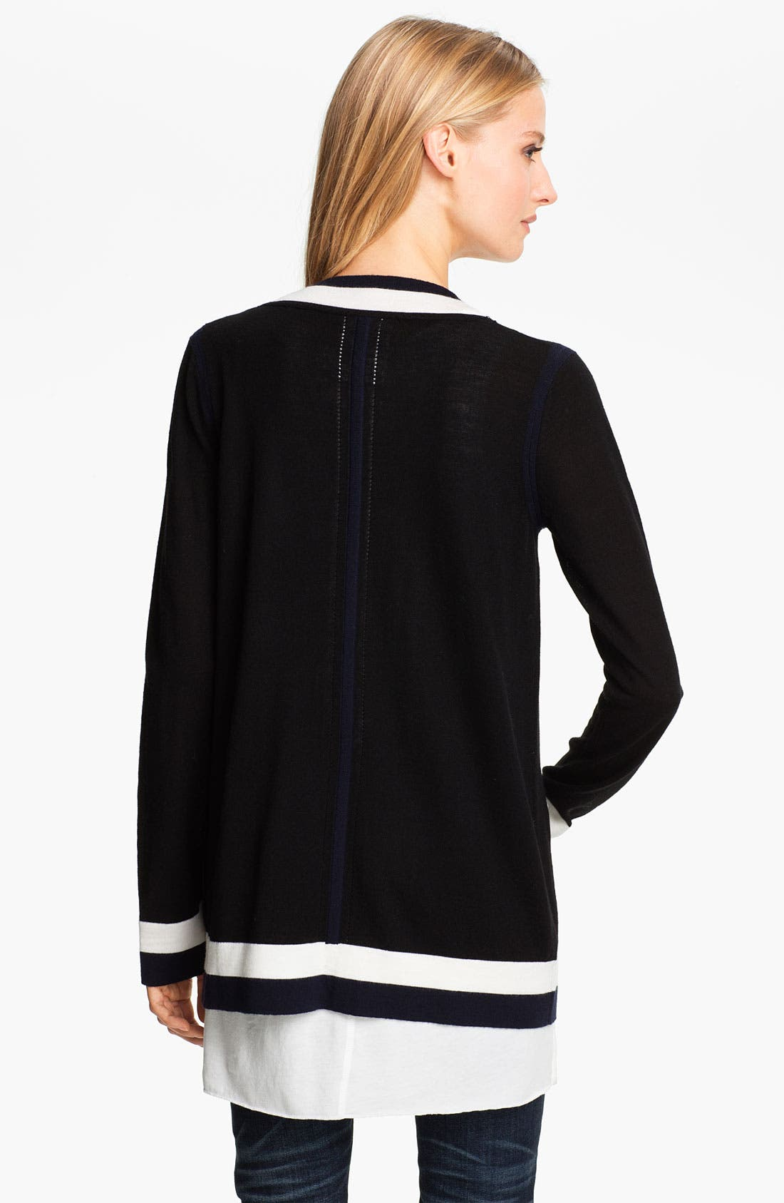 Alternate Image 2  - rag & bone 'Prymm' Merino Wool Cardigan
