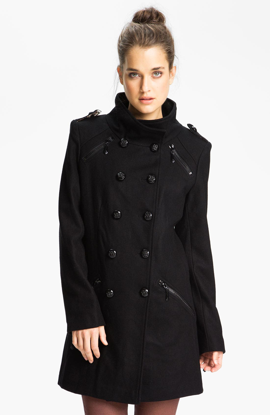 Alternate Image 1  - Sam Edelman Double Breasted Wool Jacket