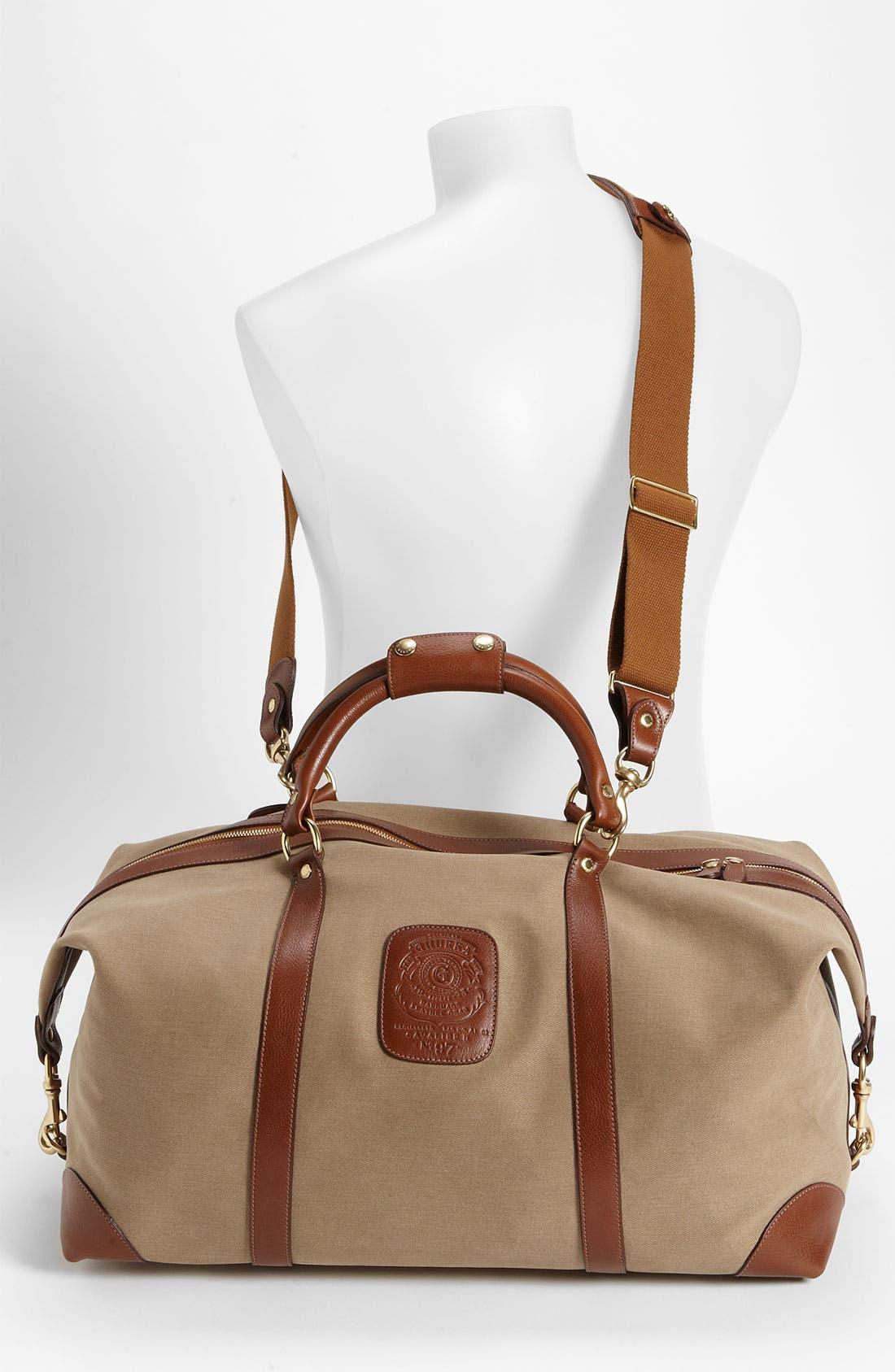Alternate Image 2  - Ghurka 'Cavalier II' Twill Duffel Bag