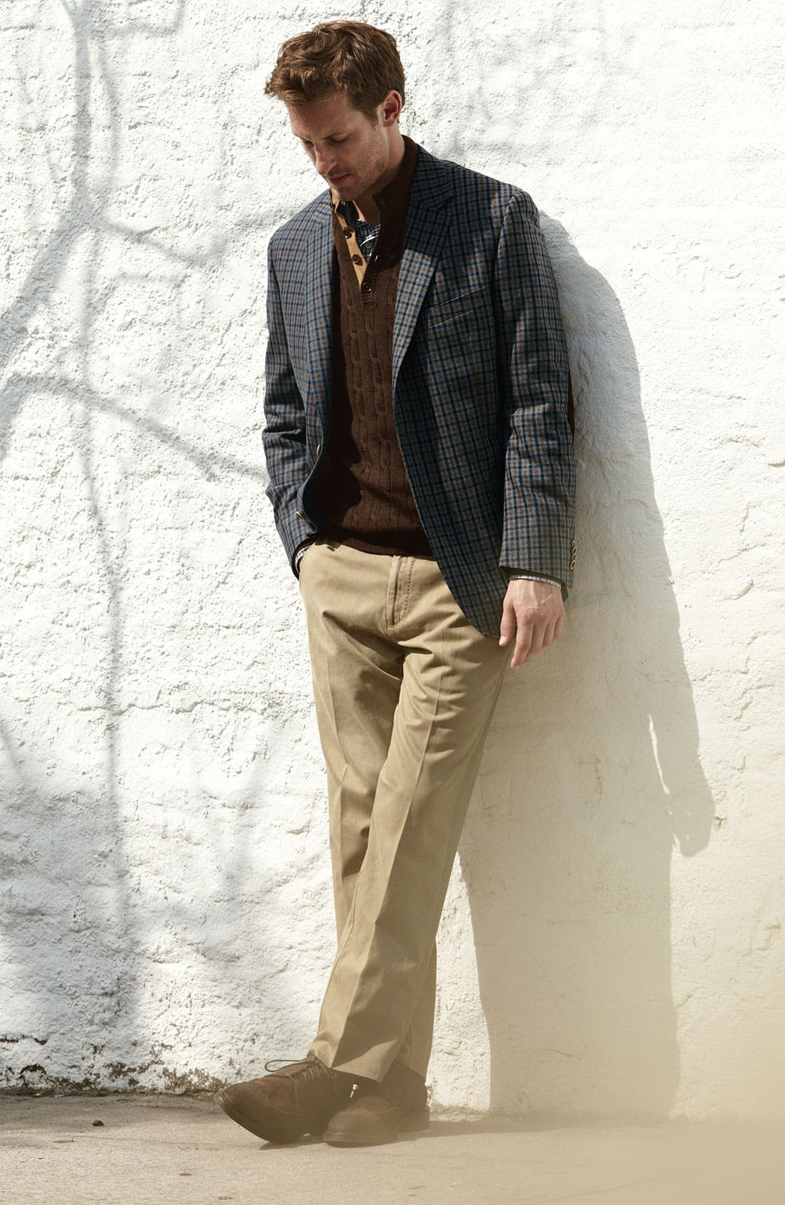 Alternate Image 4  - Peter Millar Wool & Cashmere Sportcoat