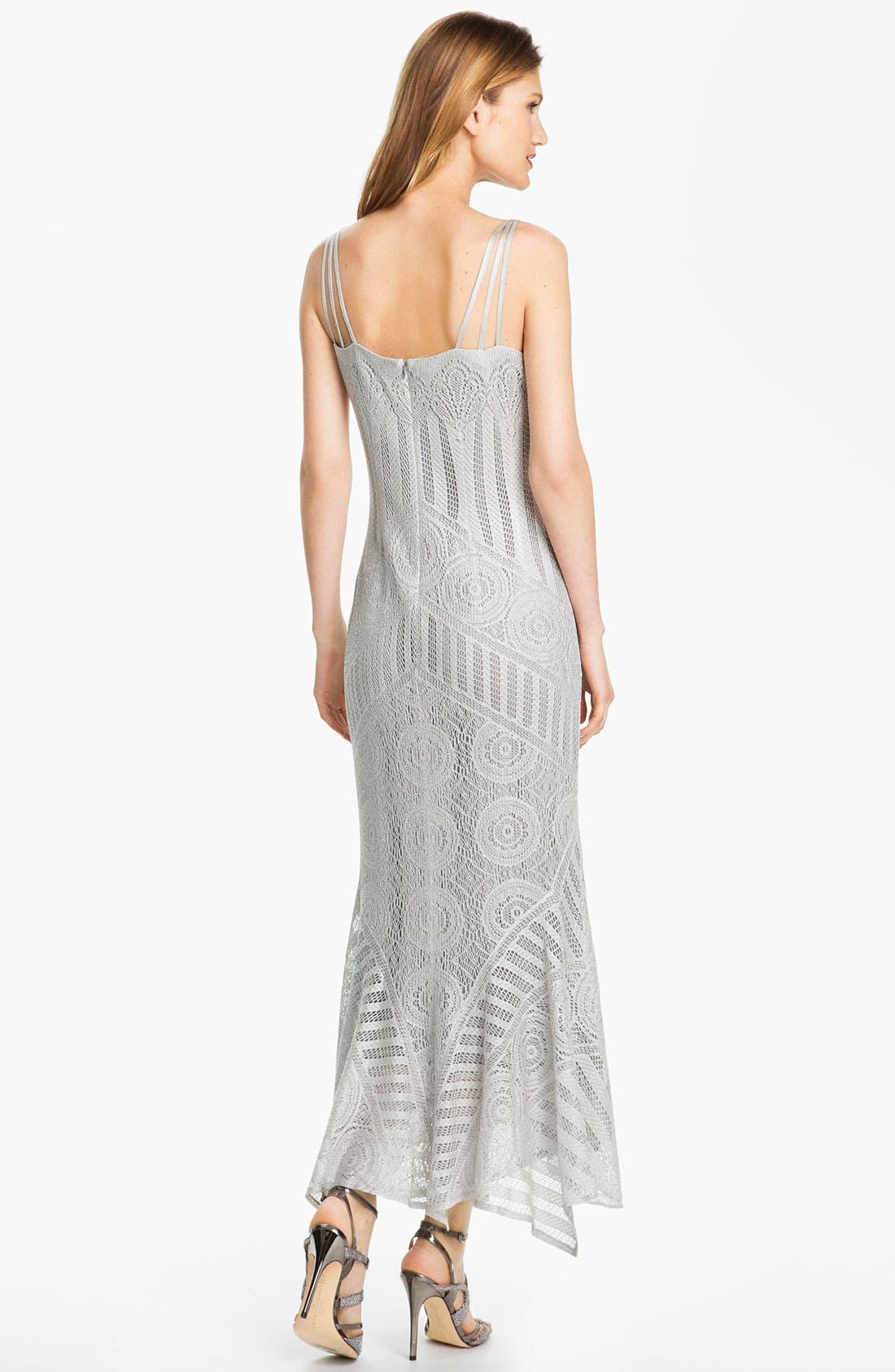 Alternate Image 3  - Damianou Multi Strap Crocheted Dress & Jacket