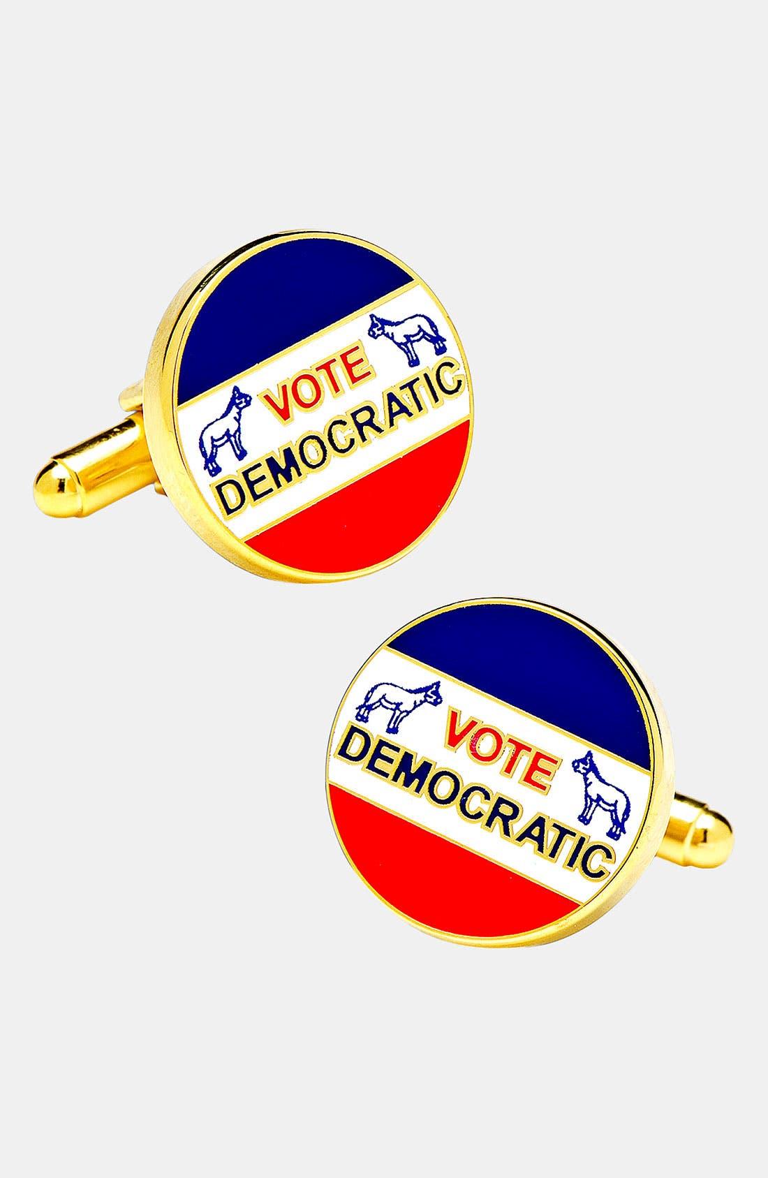 Main Image - Cufflinks, Inc. 'Vintage Democrat' Cuff Links