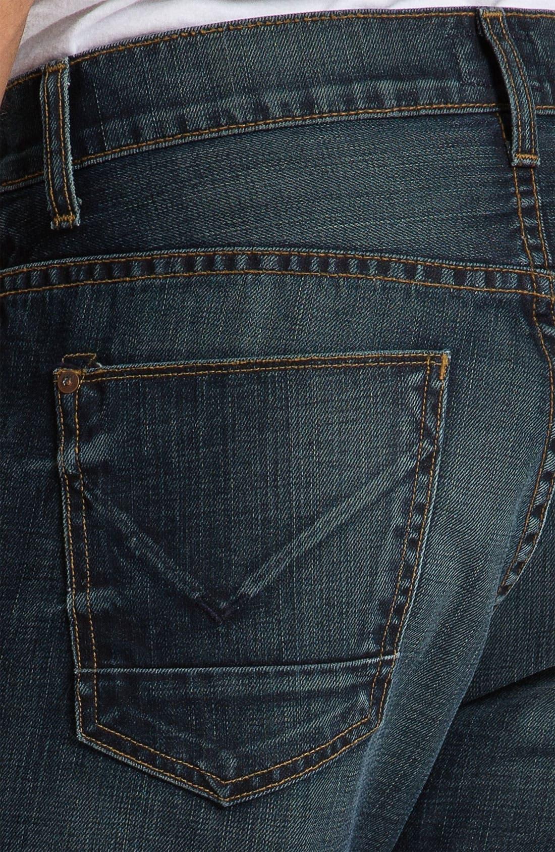 Alternate Image 4  - Hudson Jeans 'Dandy' Slouchy Straight Leg Jeans (Shovel)
