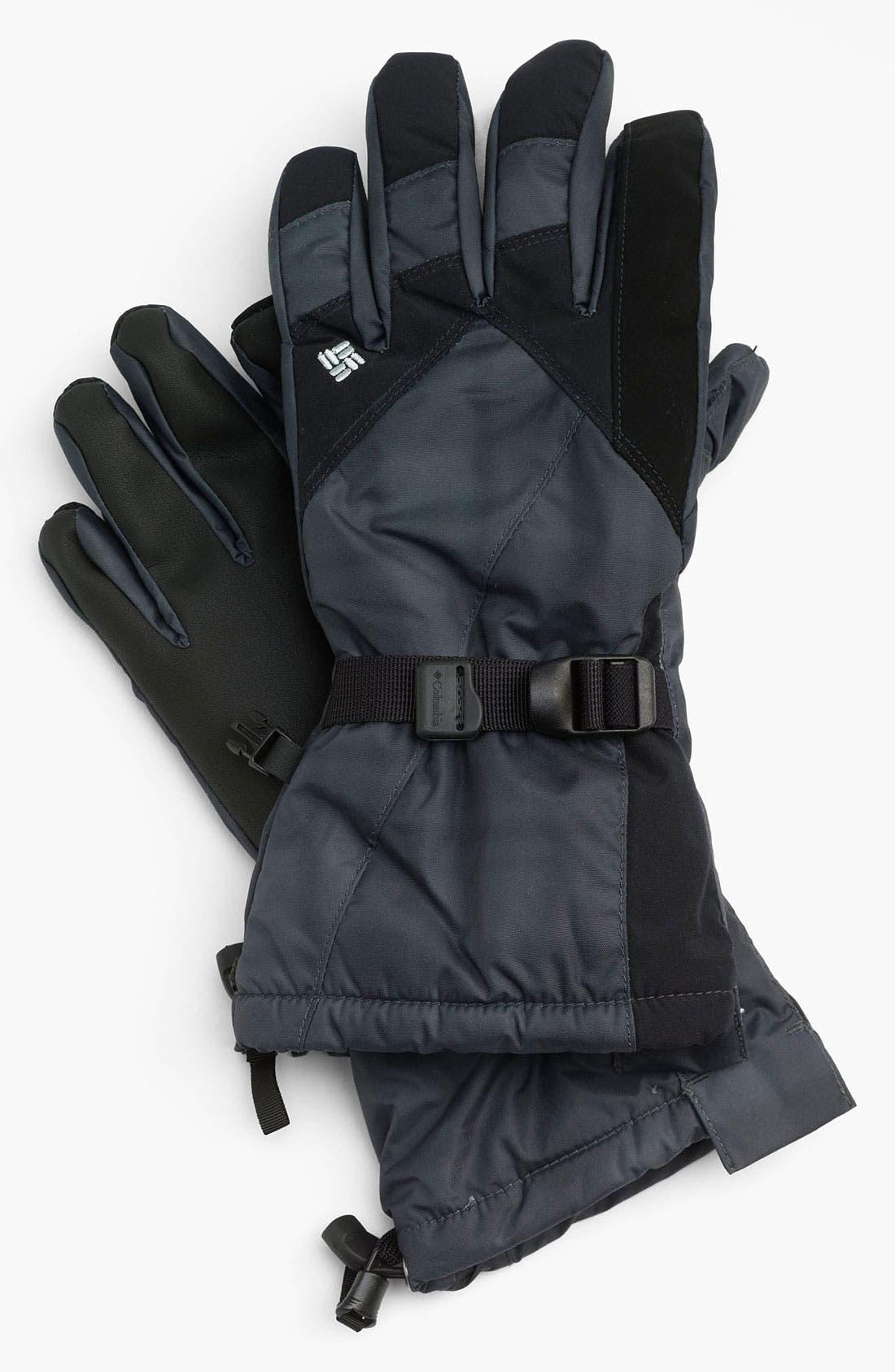 Main Image - Columbia 'Whirlibird II' Omni-Tech® Waterproof Gloves