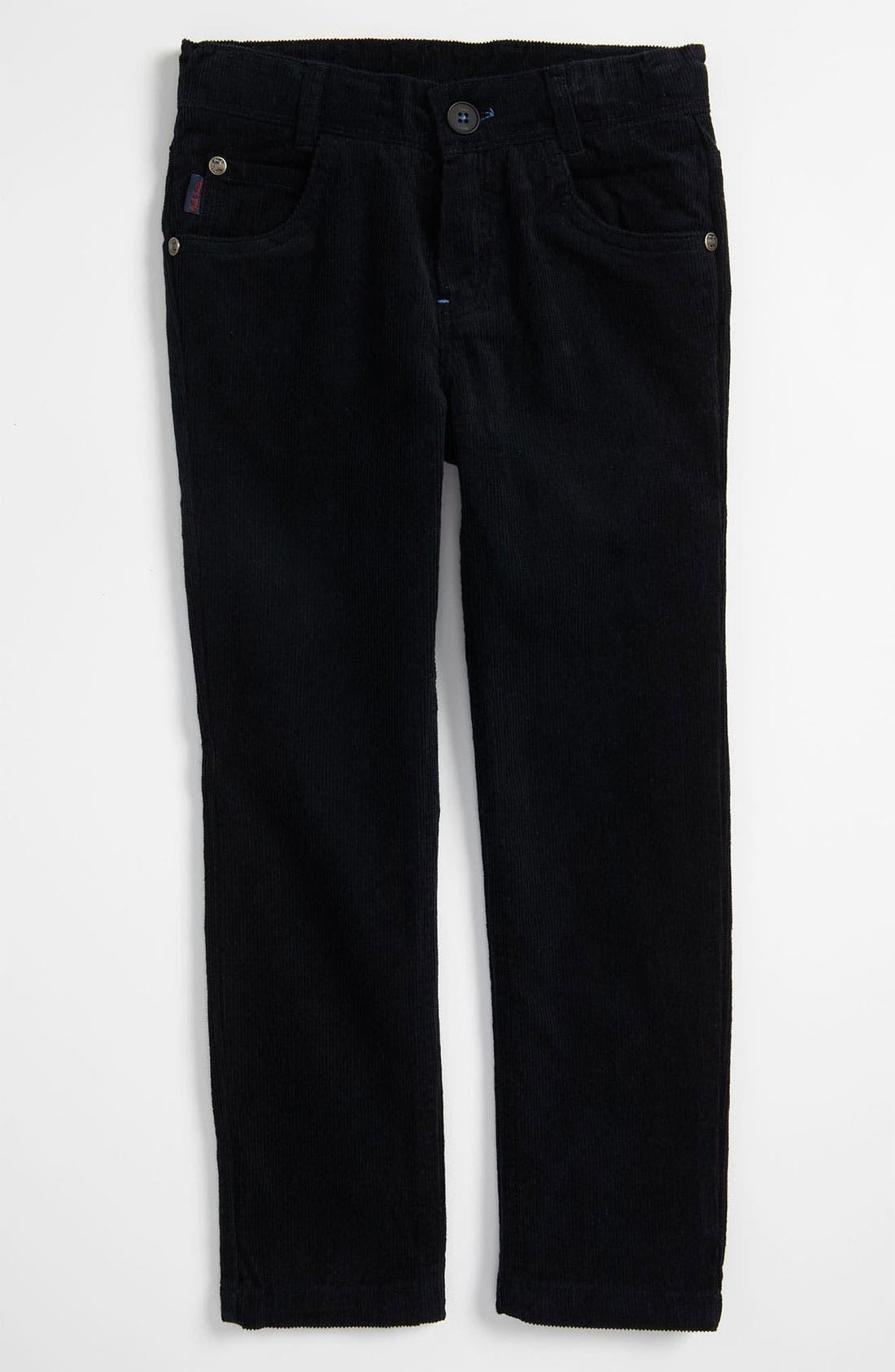 Alternate Image 2  - Paul Smith Junior 'Callaghan' Straight Leg Corduroy Pants (Big Boys)