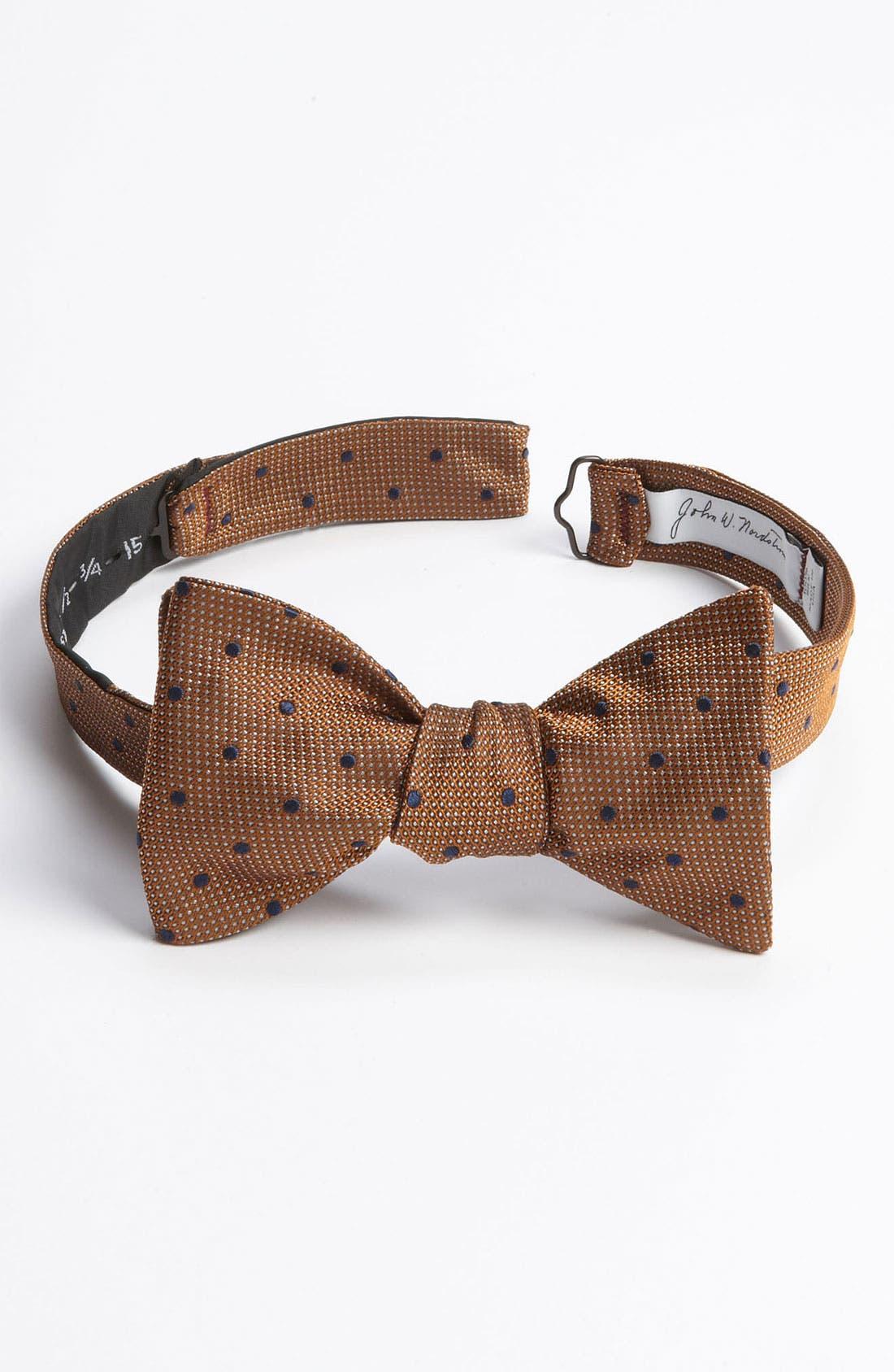 Main Image - John W. Nordstrom® Woven Silk Bow Tie