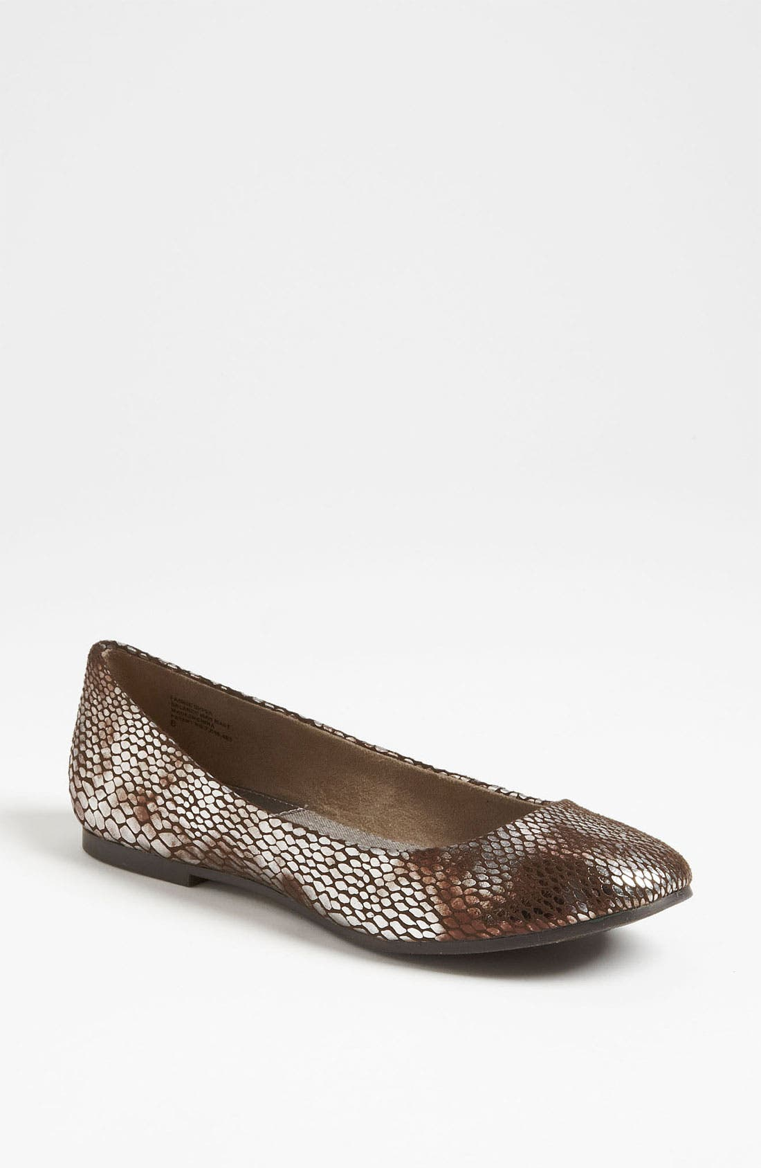 Alternate Image 1 Selected - BC Footwear 'Limousine' Metallic Flat