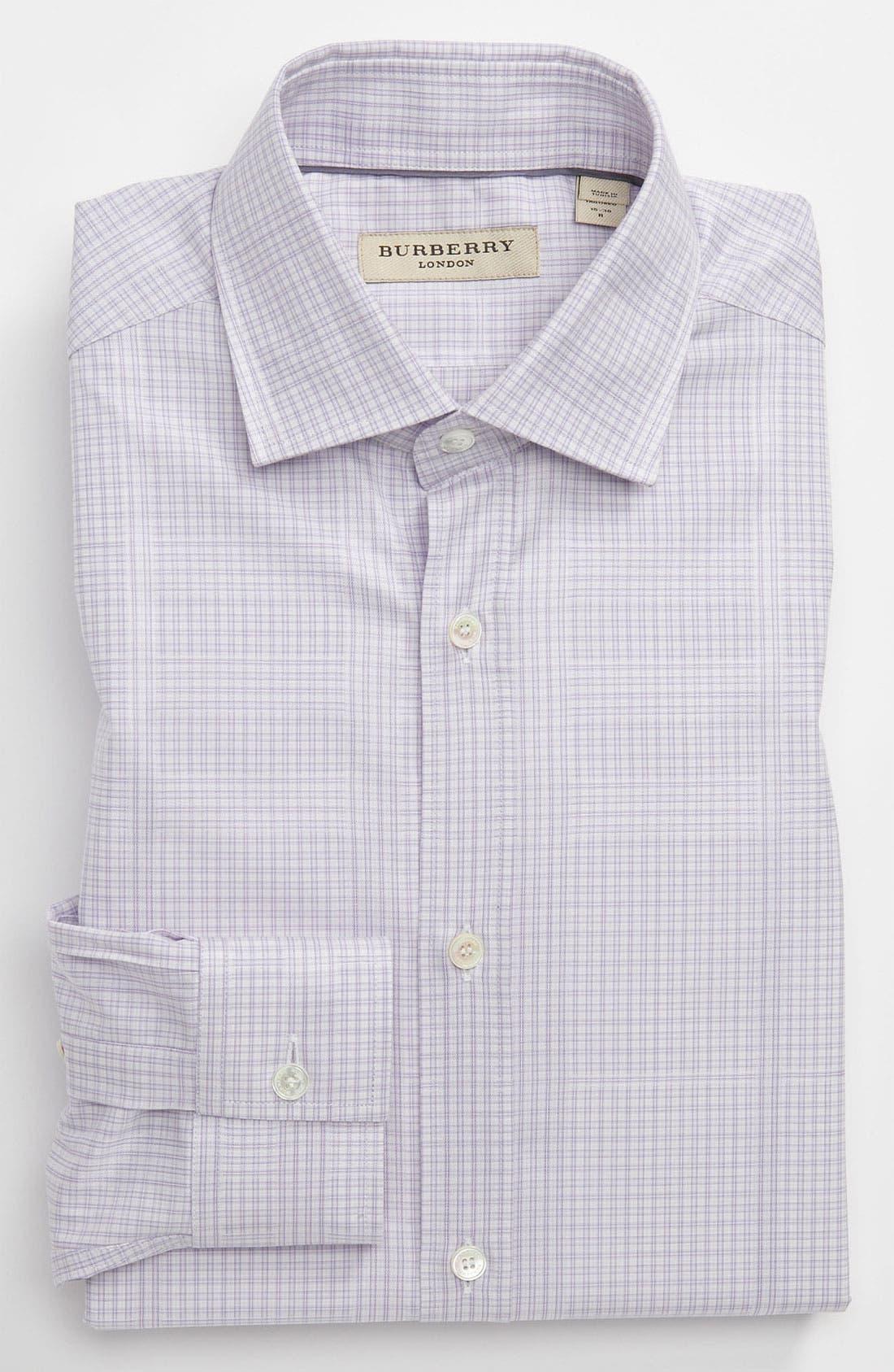 Alternate Image 1 Selected - Burberry London Modern Fit Dress Shirt
