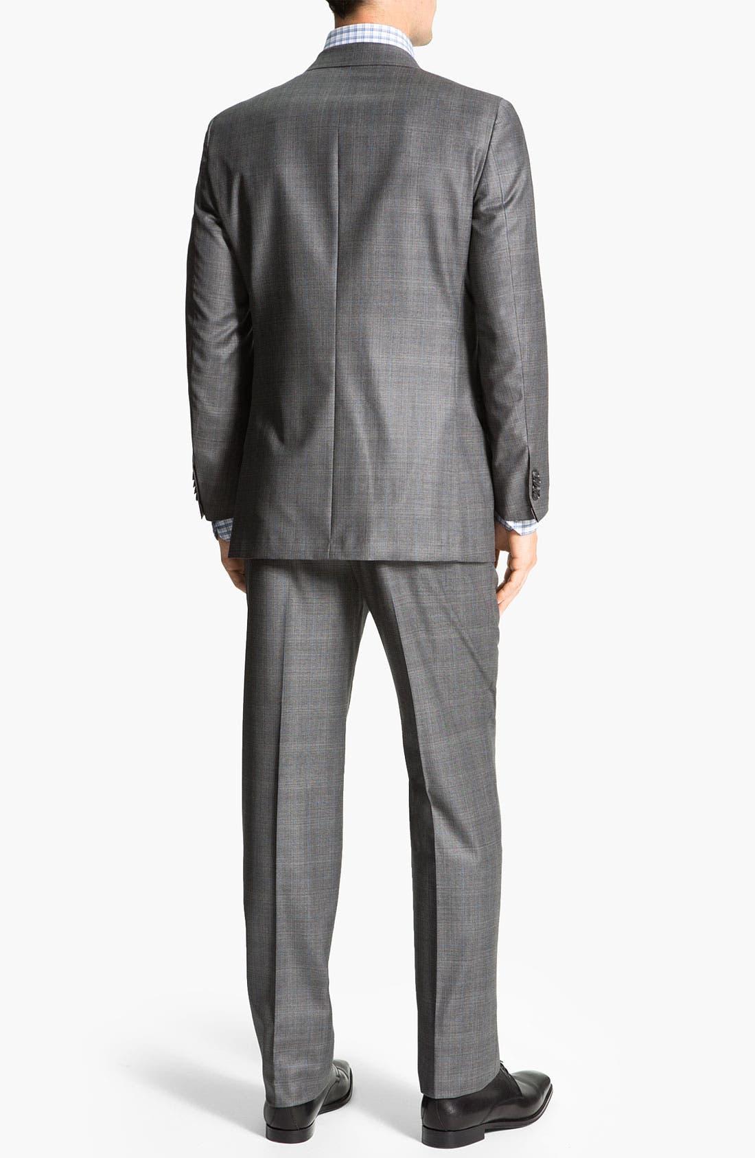 Alternate Image 3  - Hickey Freeman 'B Series' Wool Suit