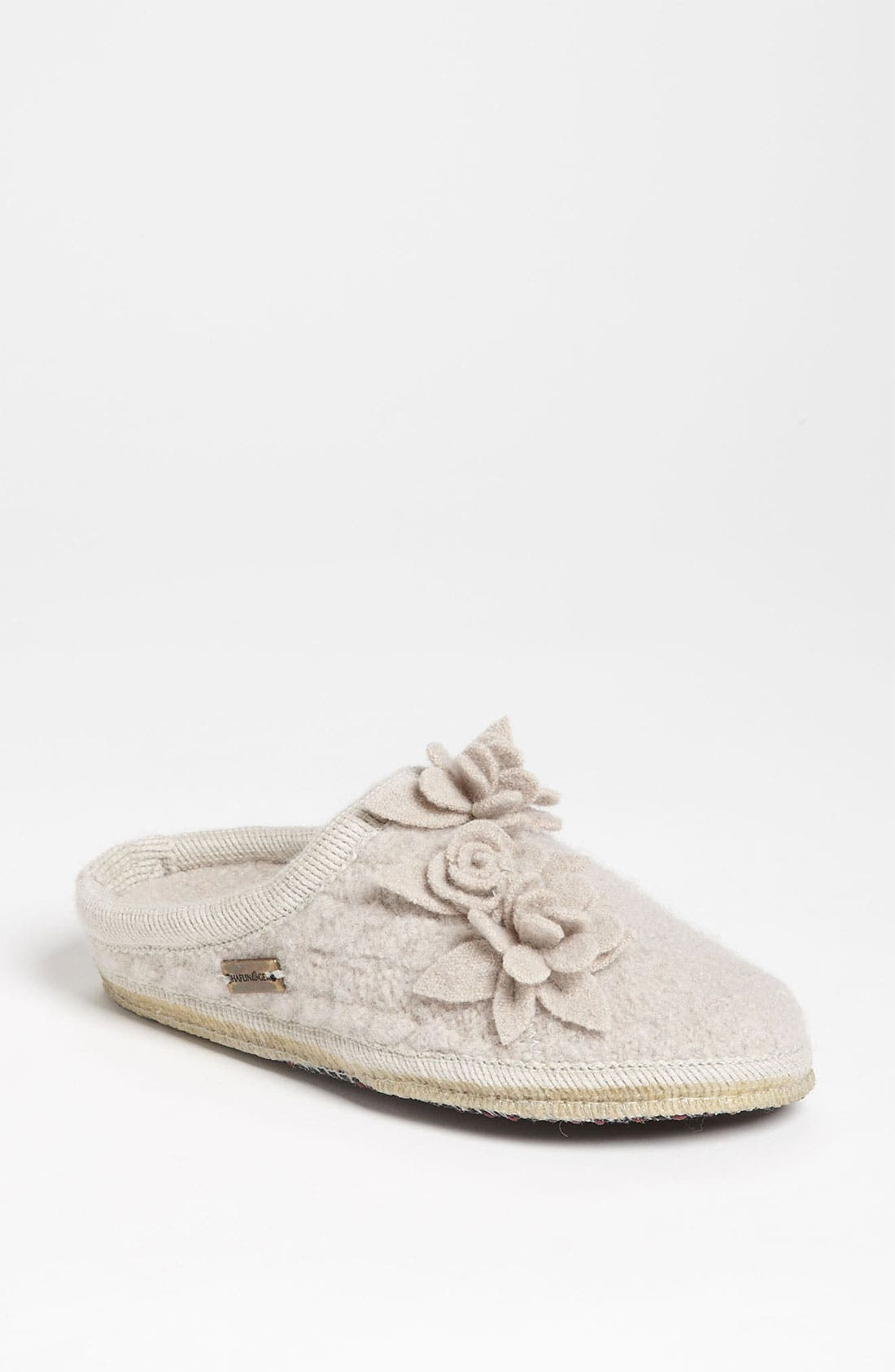 Alternate Image 1 Selected - Haflinger 'Romantic Flowers' Slipper