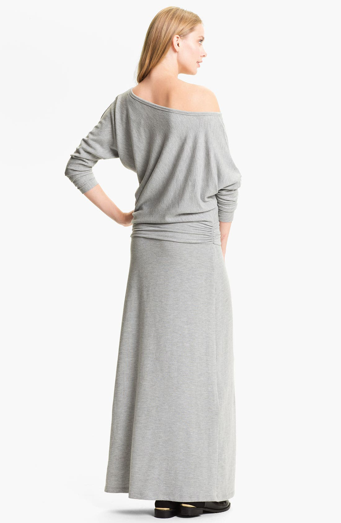 Alternate Image 2  - Tart 'Yvonne' Off the Shoulder Sweater Maxi Dress