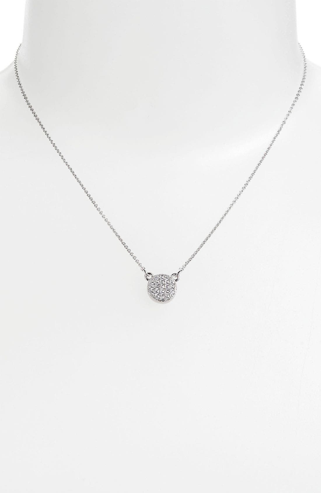 Main Image - kate spade new york 'bright spot' pendant necklace