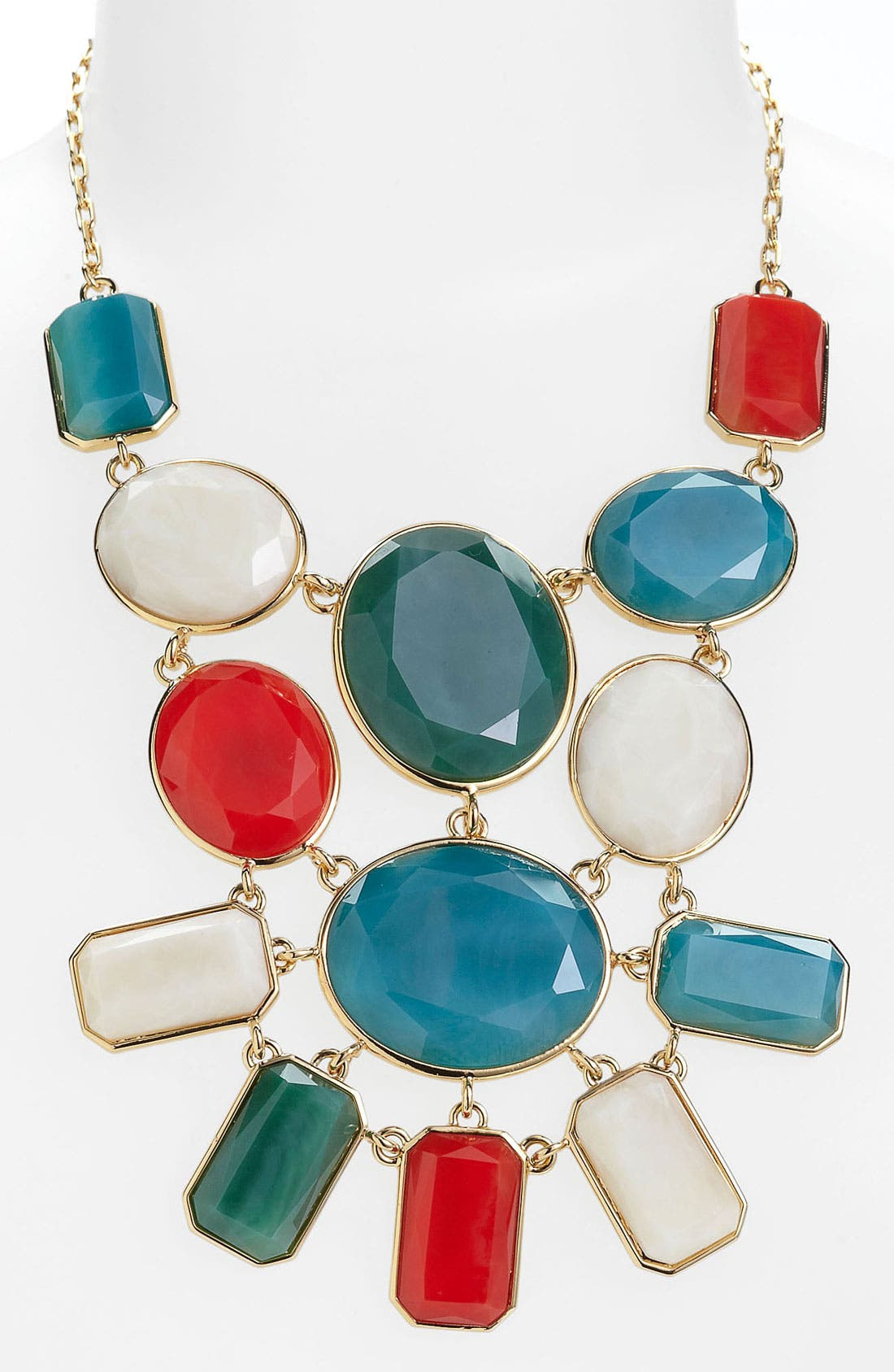 Main Image - kate spade new york 'dazzle drops' bib necklace
