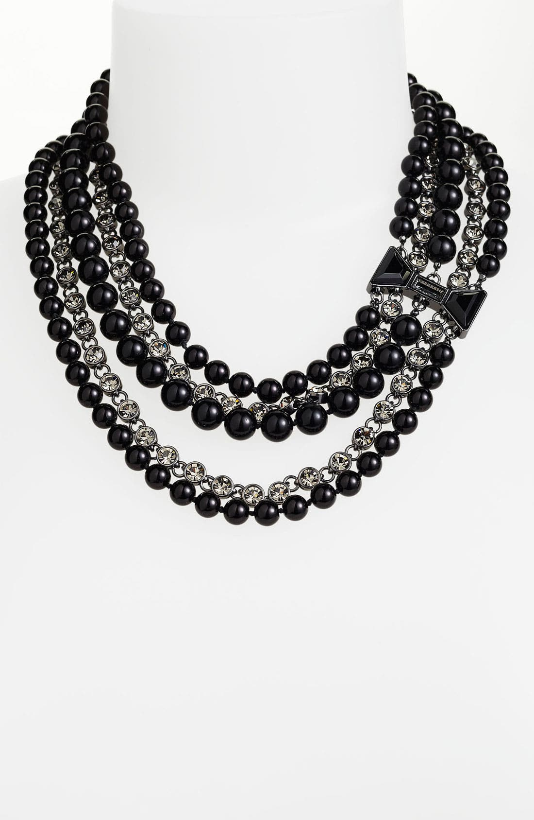 Alternate Image 1 Selected - MARC BY MARC JACOBS 'ID Bow - Titina' Multistrand Statement Necklace