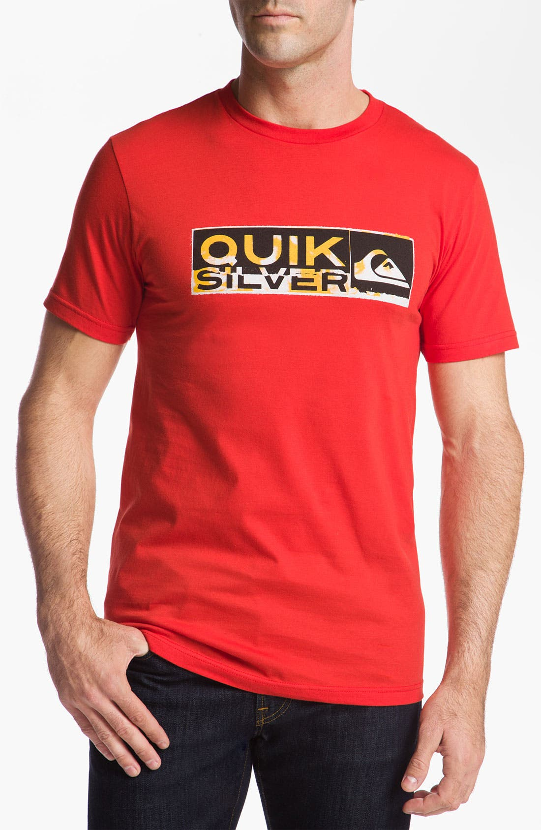 Alternate Image 1 Selected - Quiksilver 'Drawing Near' T-Shirt