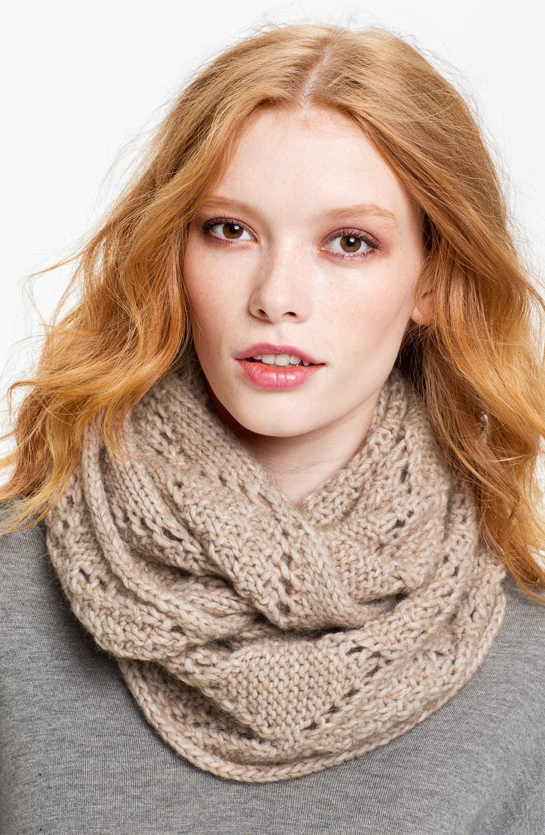 Alternate Image 1 Selected - Halogen® 'Diamond' Infinity Scarf