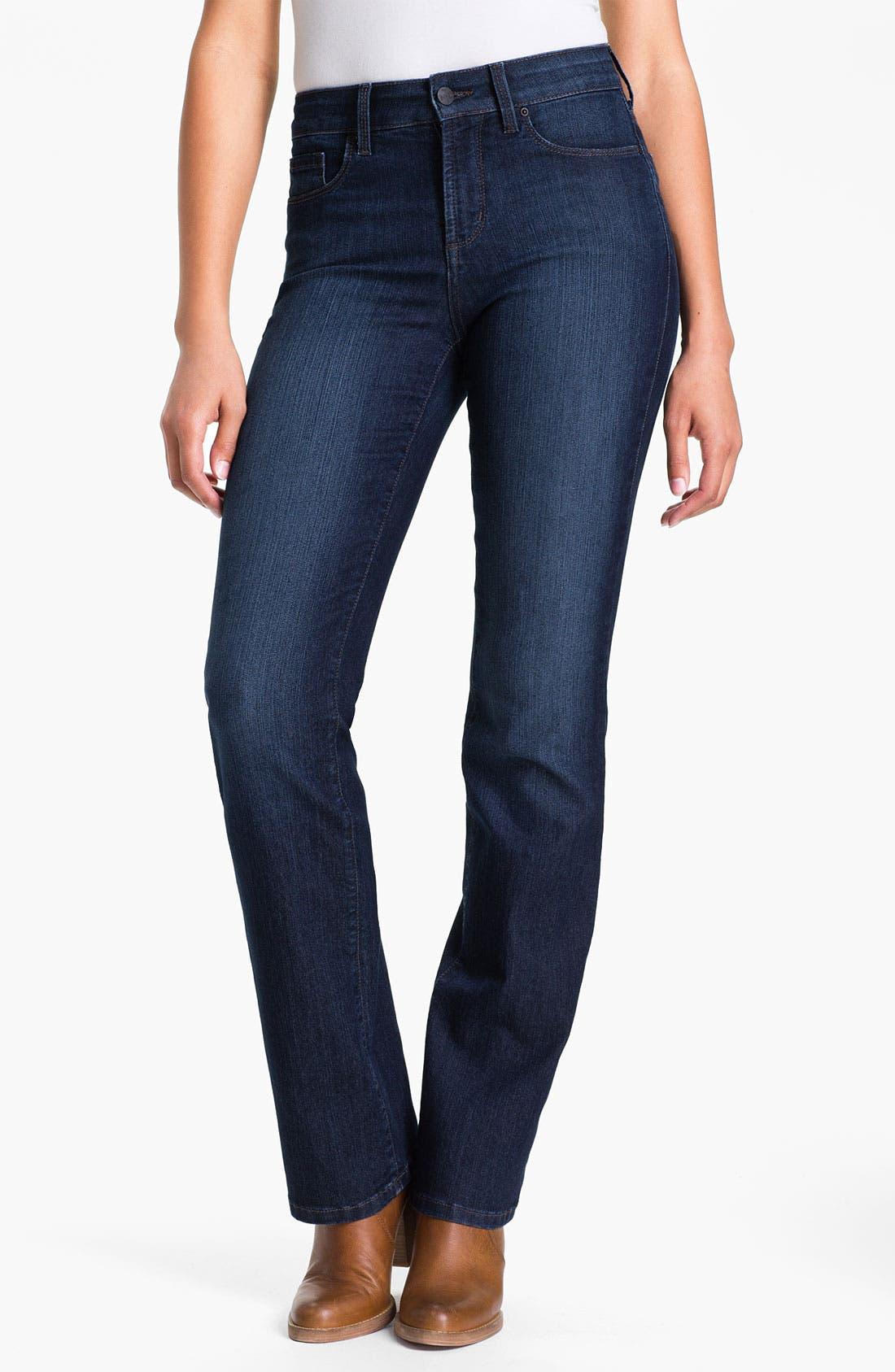 Alternate Image 2  - NYDJ 'Barbara' Embellished Bootcut Jeans