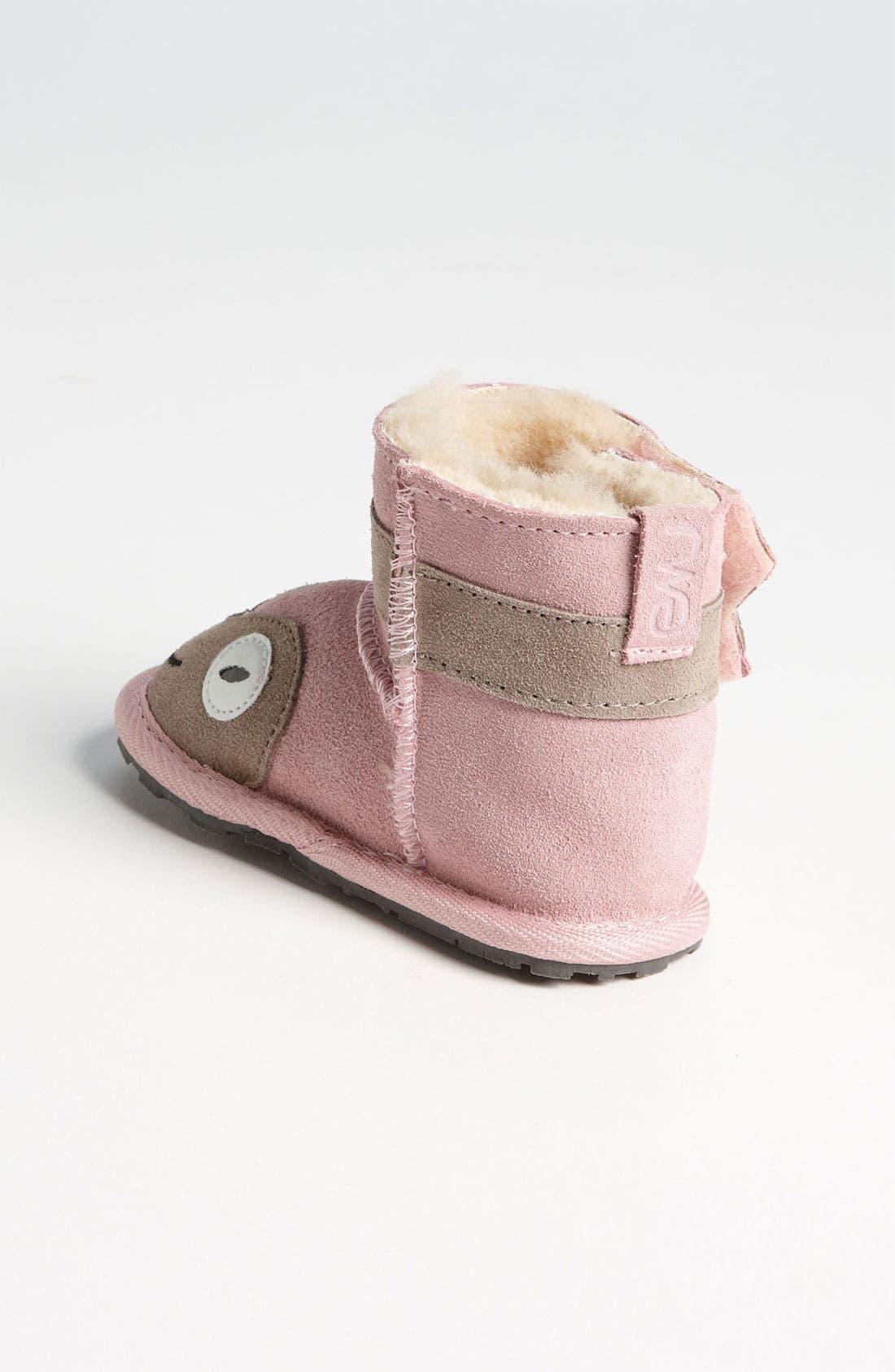 Alternate Image 2  - EMU Australia 'Little Creatures - Kitty' Boot (Baby & Walker)