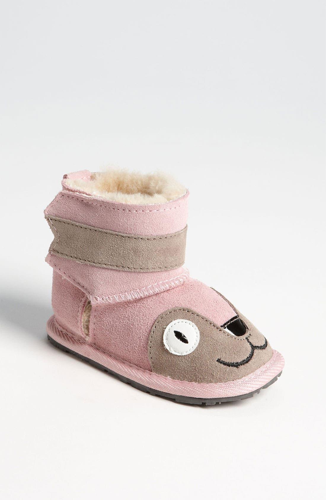 Main Image - EMU Australia 'Little Creatures - Kitty' Boot (Baby & Walker)