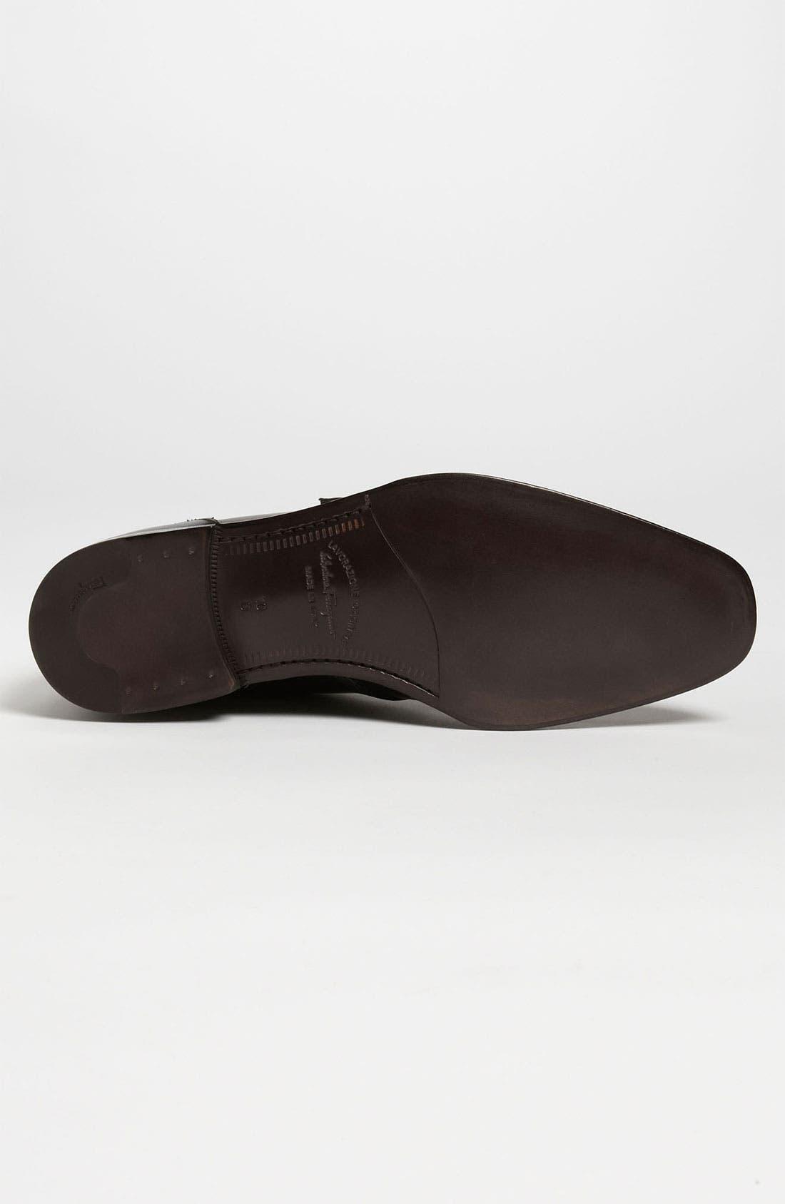 Alternate Image 4  - Salvatore Ferragamo 'Arezzo' Double Monk Strap Boot