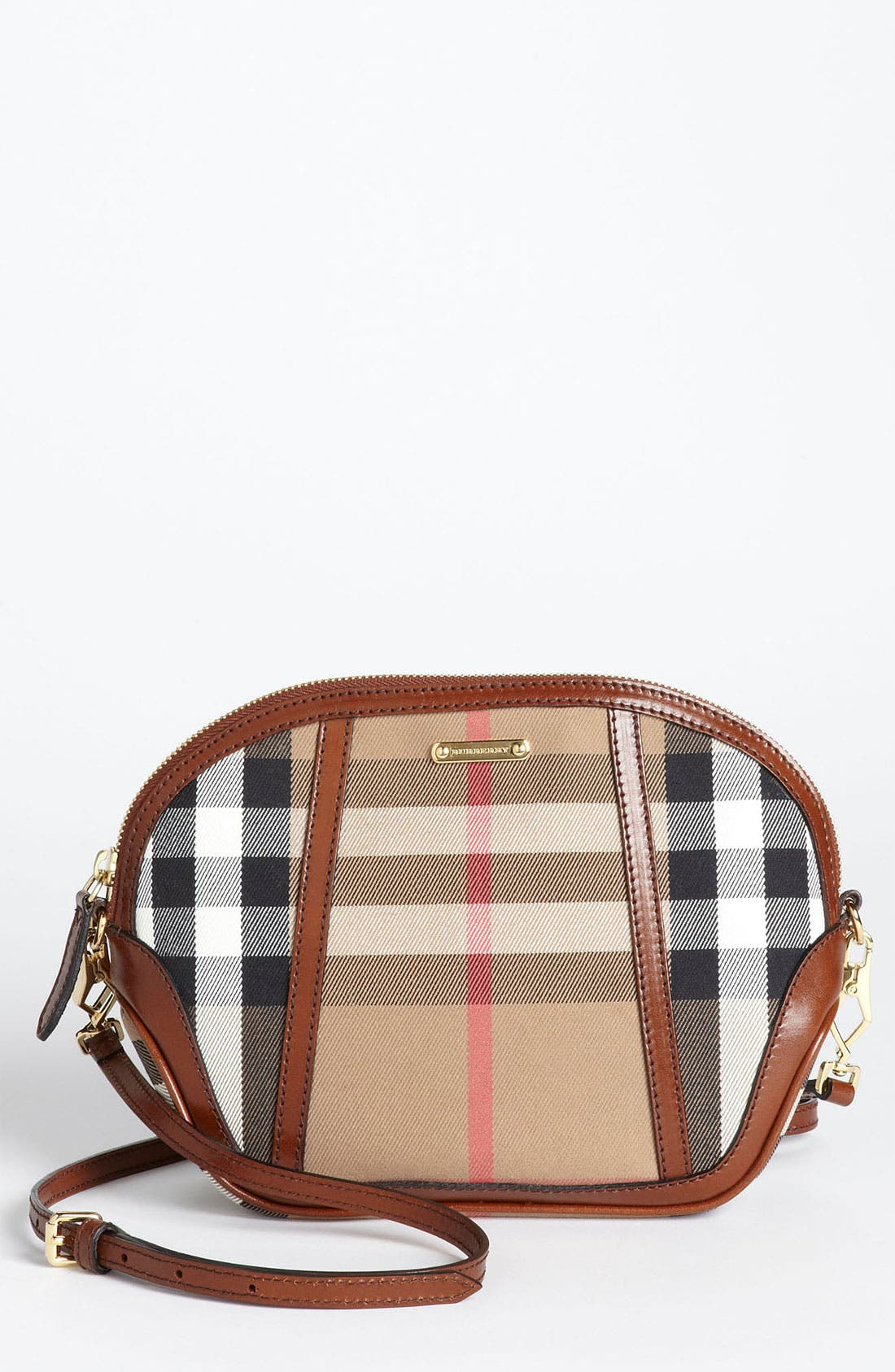 Main Image - Burberry 'House Check' Crossbody Bag