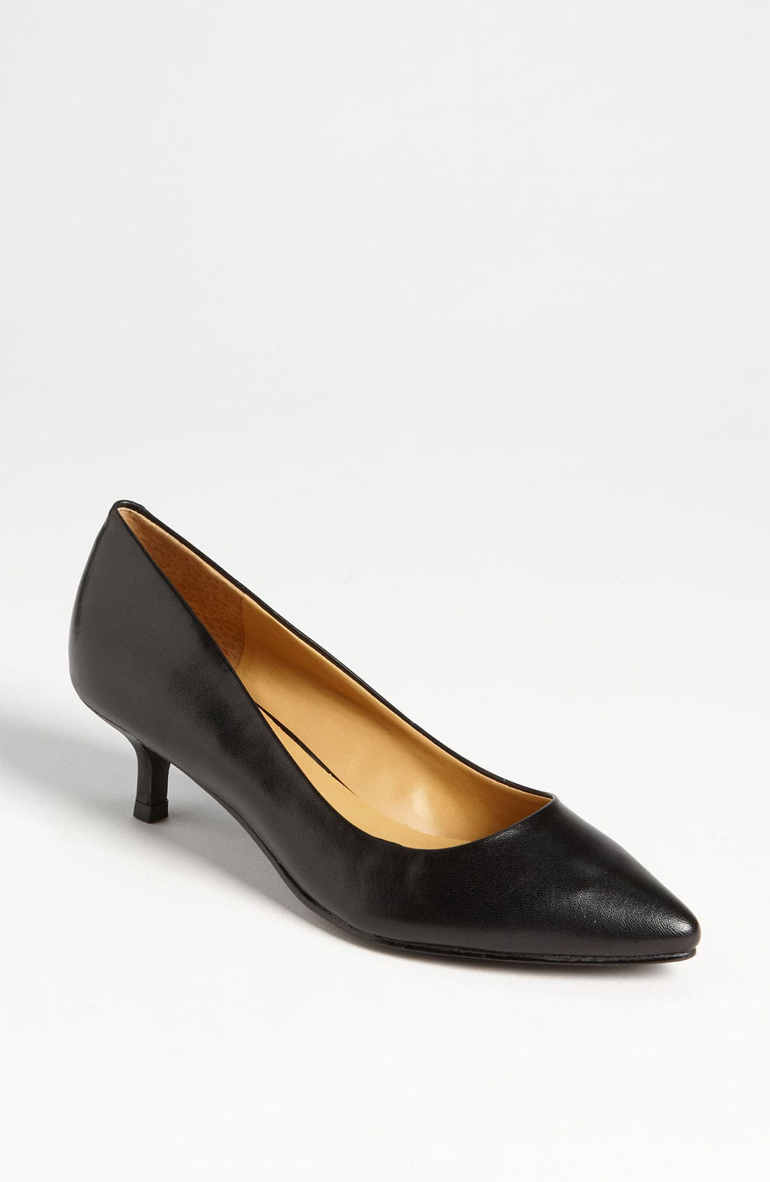 Alternate Image 1 Selected - Nine West 'Runit' Kitten Heel Pump