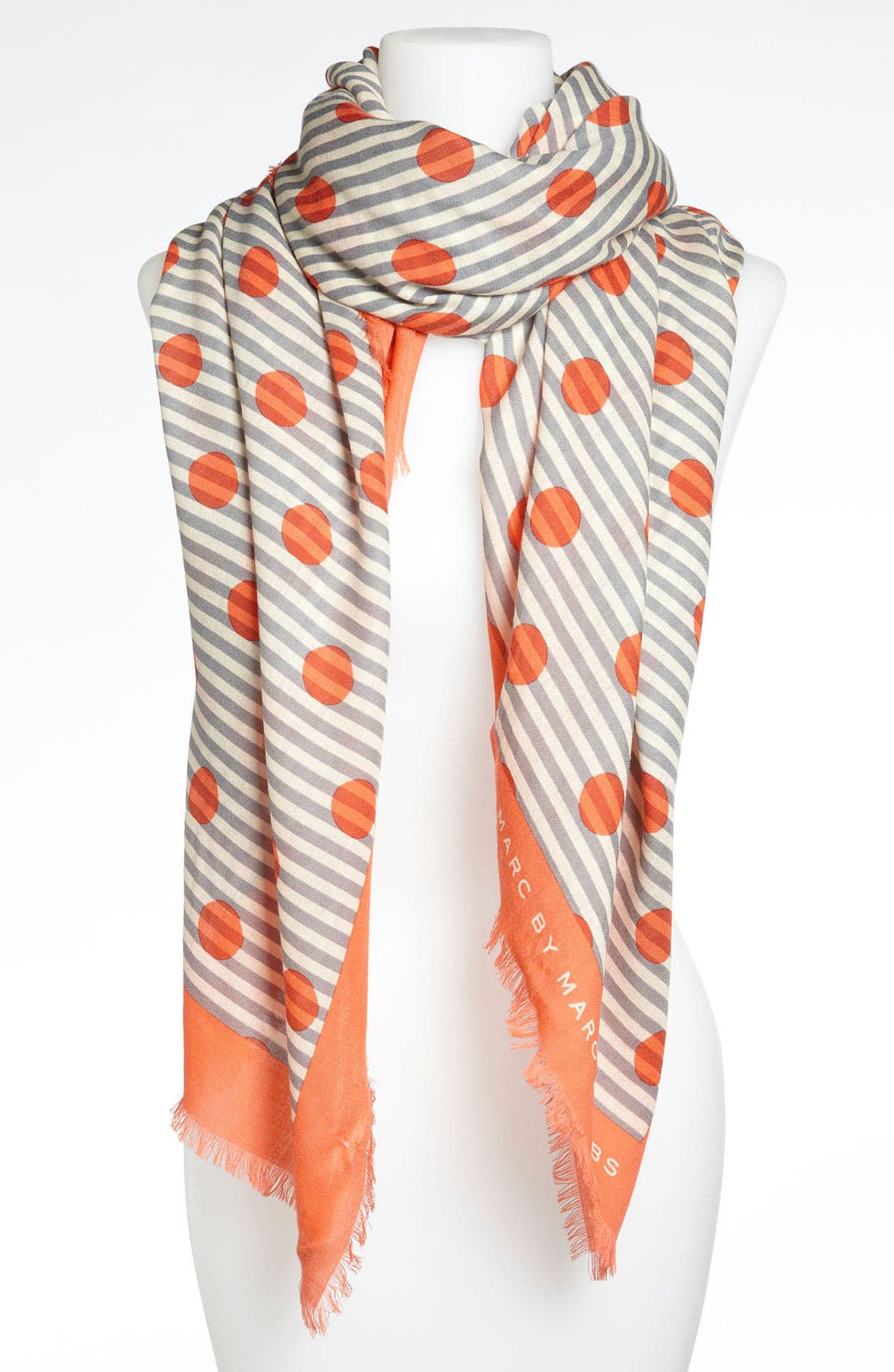 Alternate Image 1 Selected - MARC BY MARC JACOBS 'Willa Dot' Wool Scarf