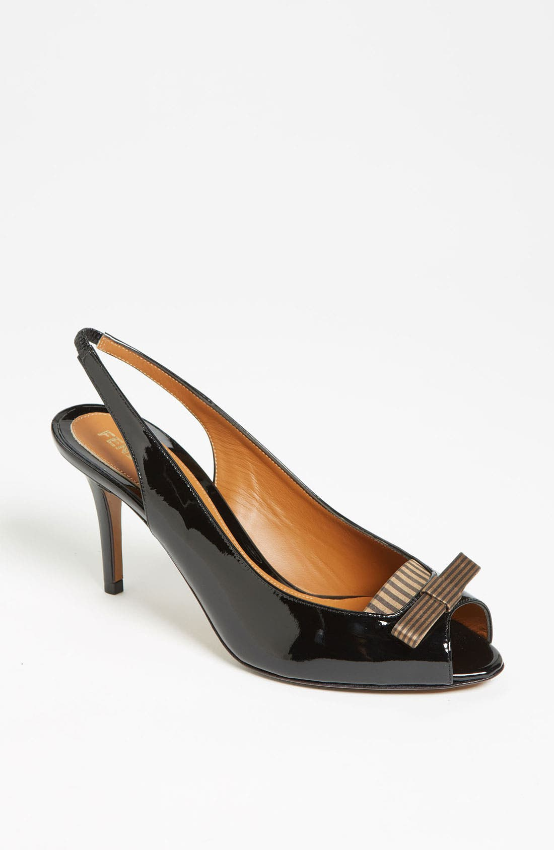 Alternate Image 1 Selected - Fendi 'Charleston' Slingback Pump