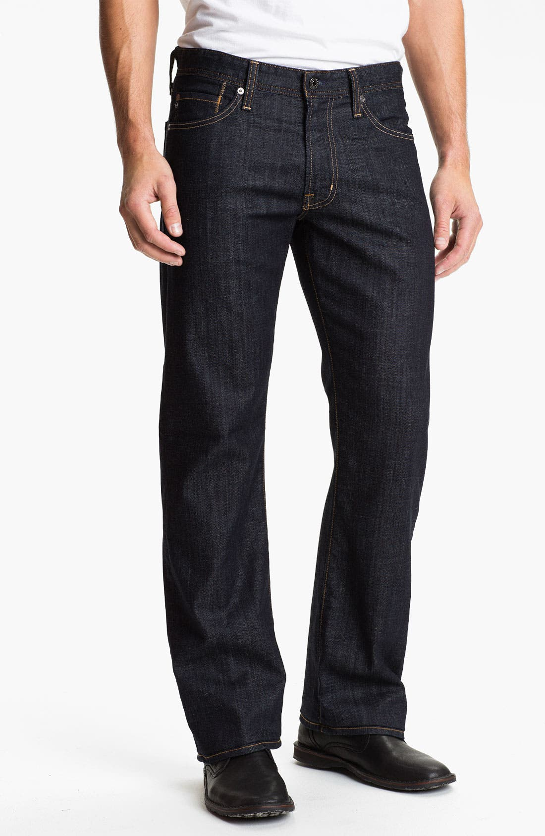 Alternate Image 1 Selected - AG Jeans 'Hero' Relaxed Fit Jeans (Munich)