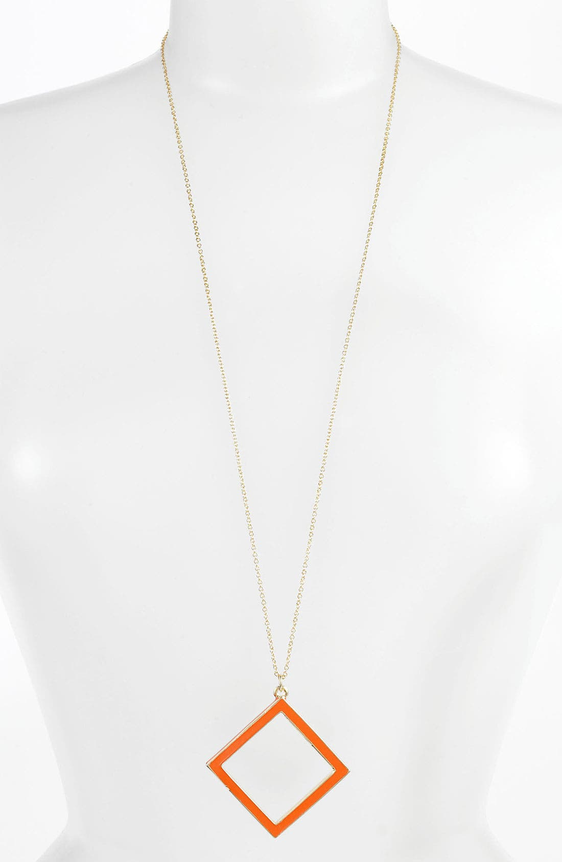 Alternate Image 1 Selected - kate spade new york 'play the angles' long pendant necklace