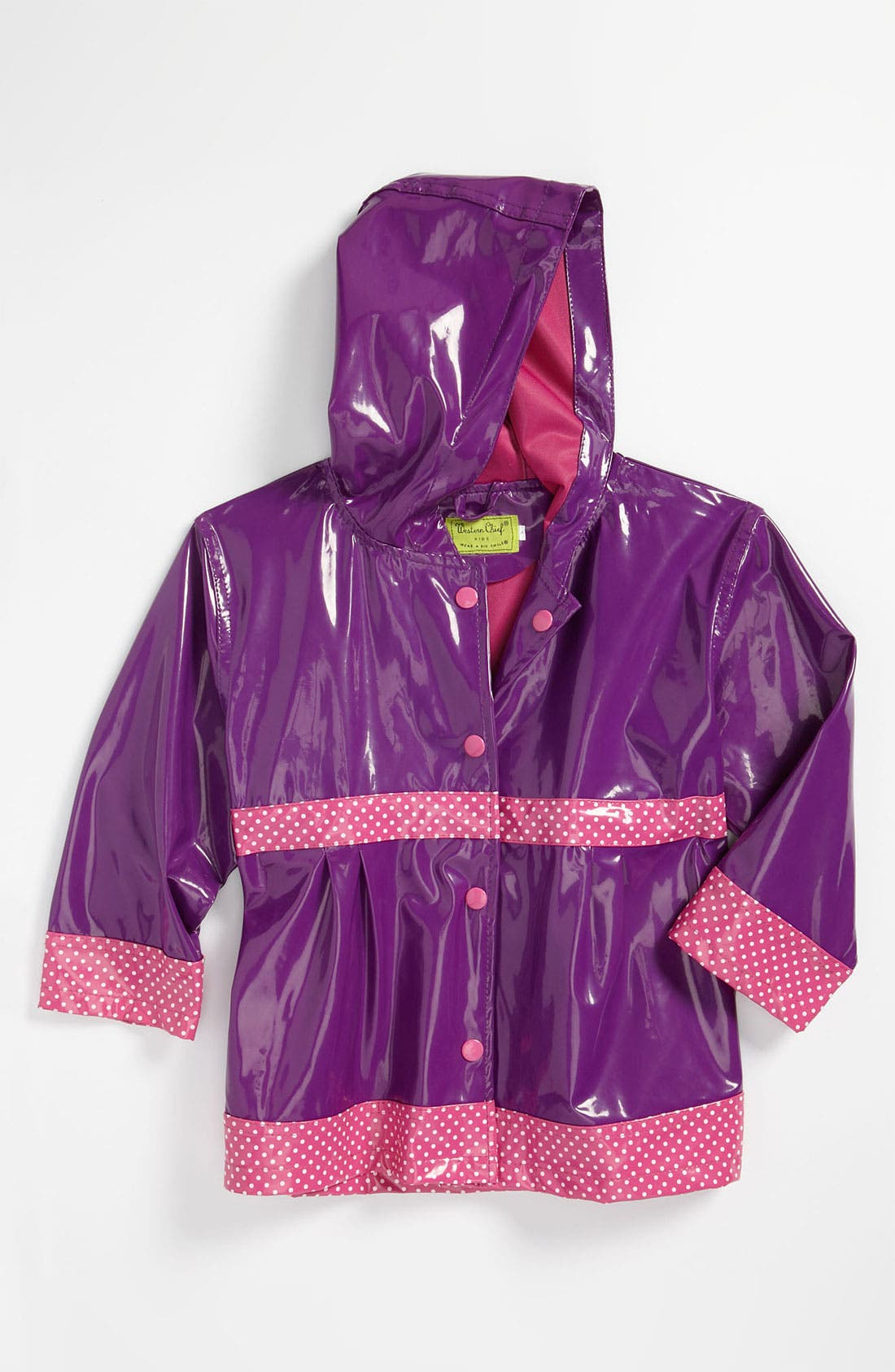 Alternate Image 1 Selected - Western Chief 'Olivia' Raincoat (Toddler, Little Girls & Big Girls)