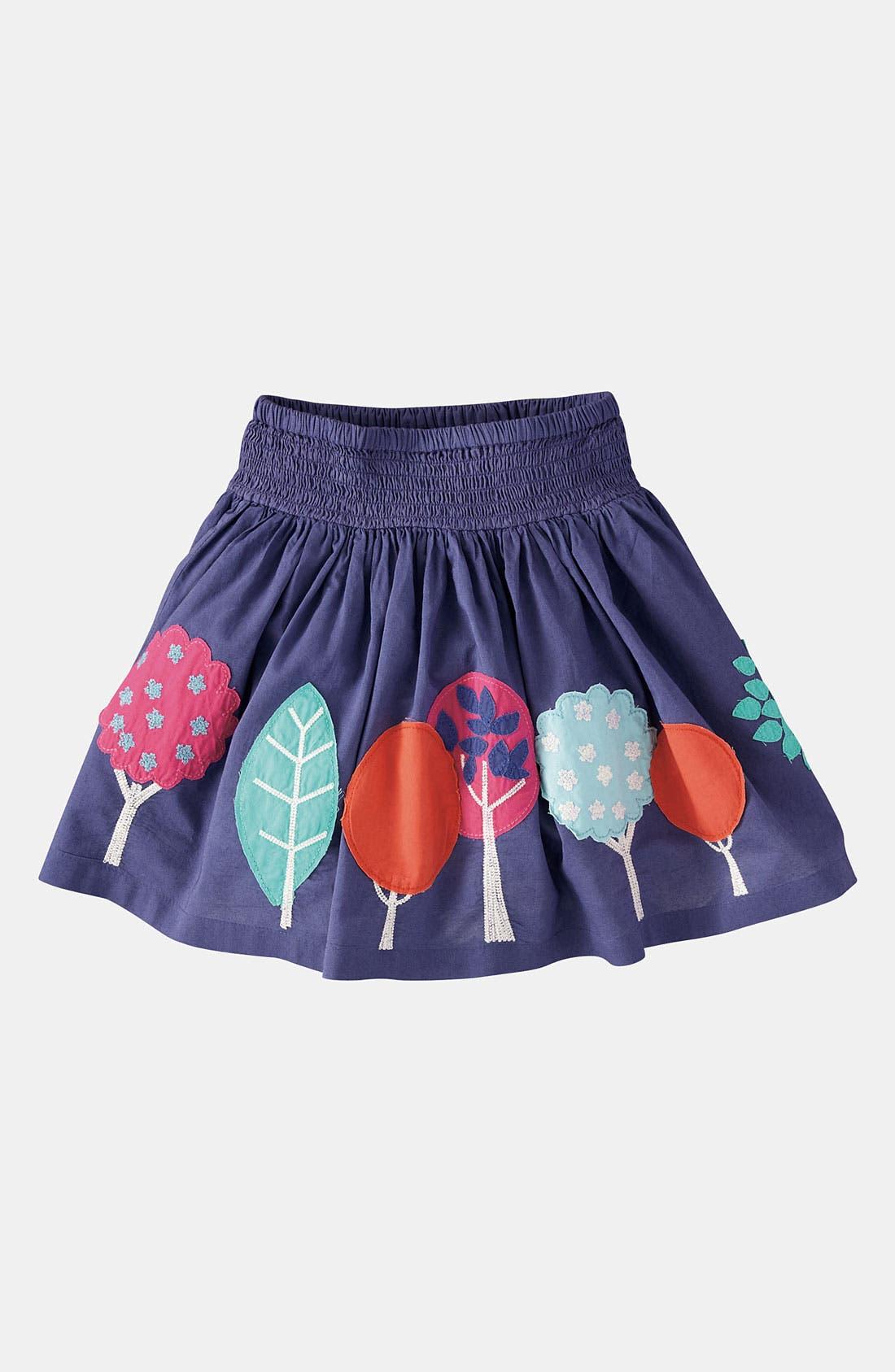 Main Image - Mini Boden Appliqué Skirt (Toddler)
