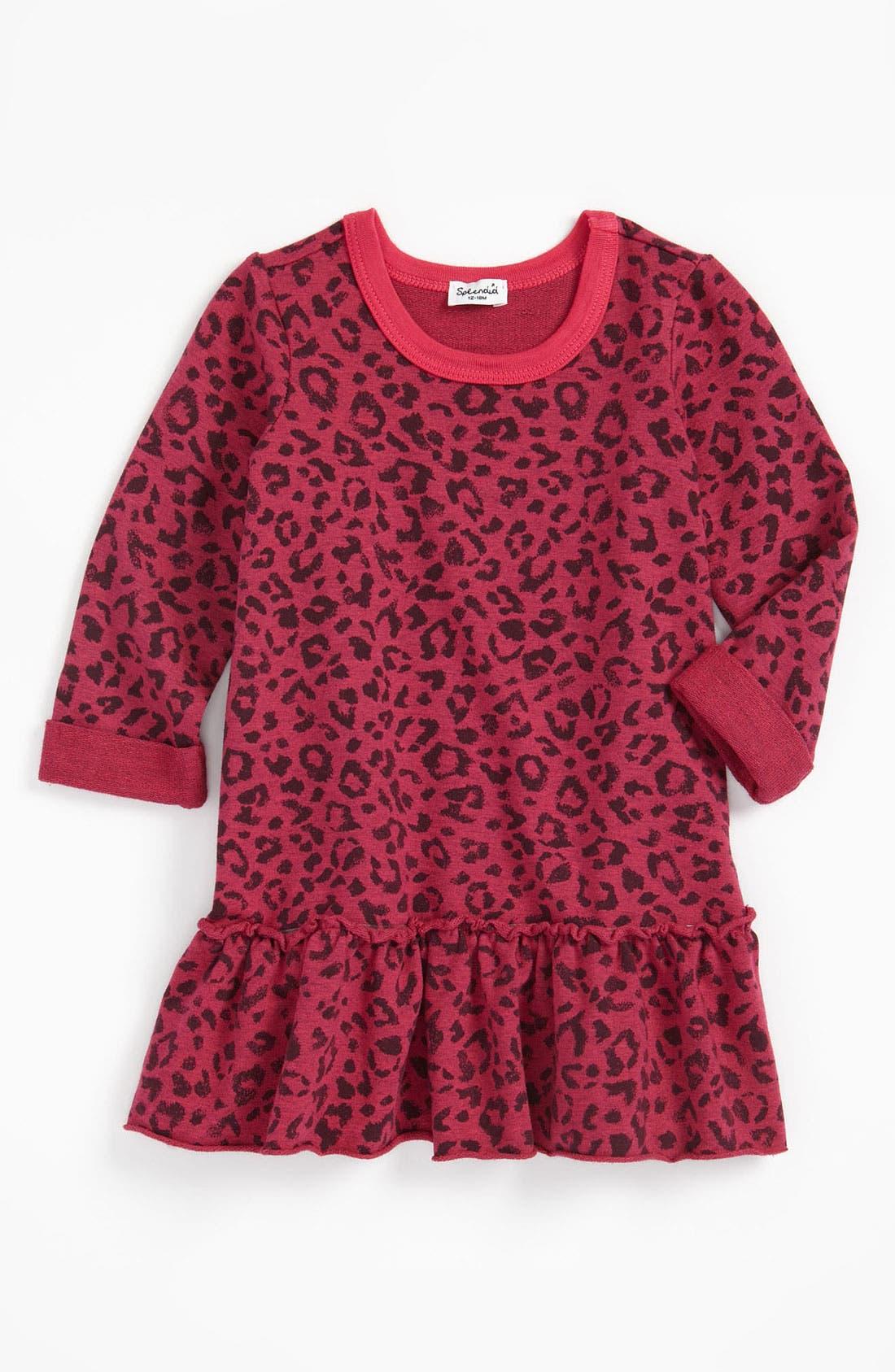 Alternate Image 1 Selected - Splendid Leopard Print Dress (Toddler)