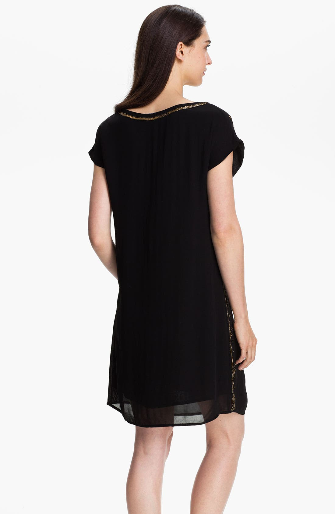 Alternate Image 2  - Lucky Brand 'Good Fortune' Embellished Dress