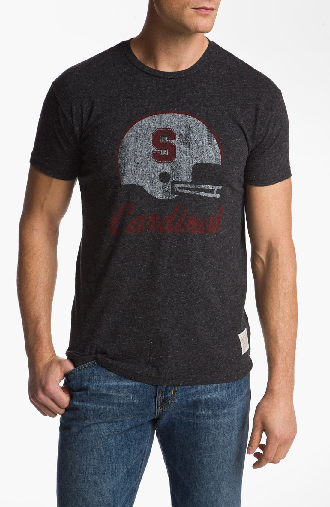 Main Image - The Original Retro Brand 'Stanford Cardinal' Crewneck T-shirt (Men)