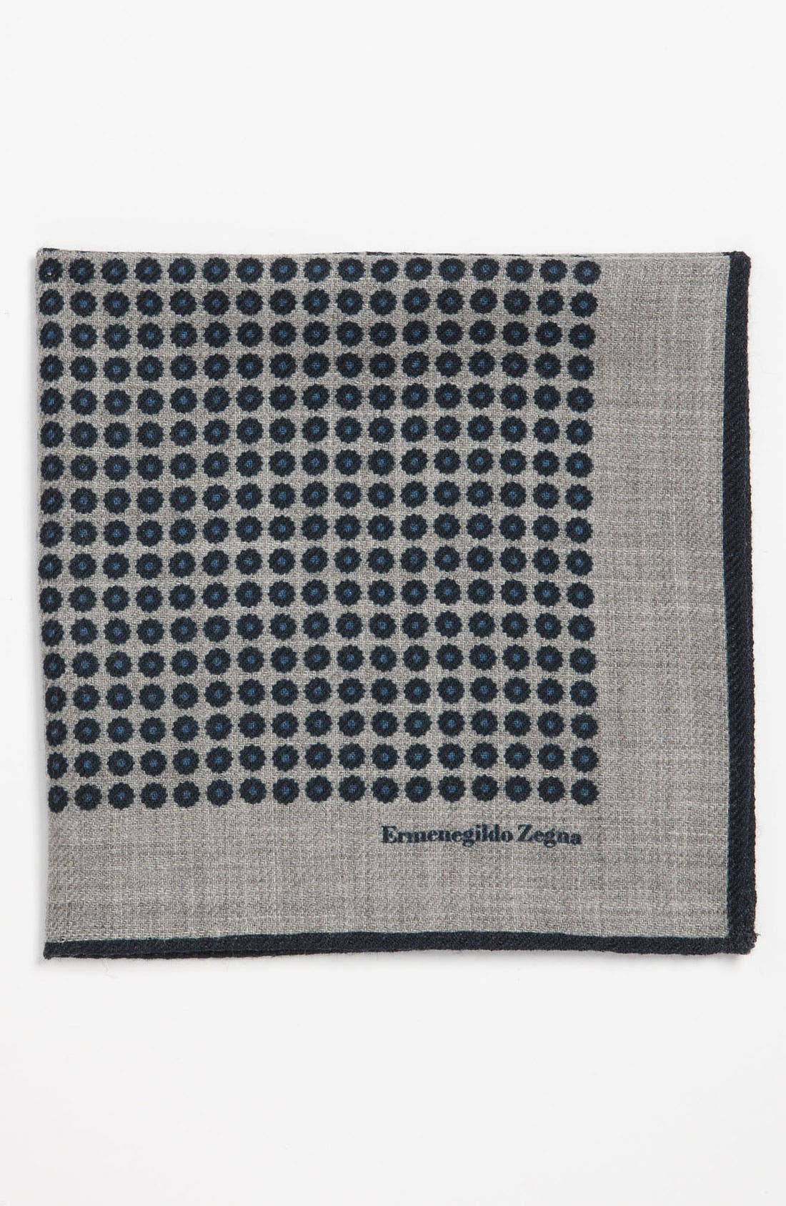 Main Image - Ermenegildo Zegna Wool Pocket Square