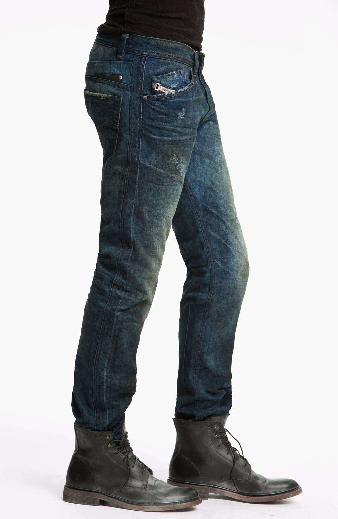 Alternate Image 3  - DIESEL® 'Darron' Slim Tapered Leg Jeans (0075L)