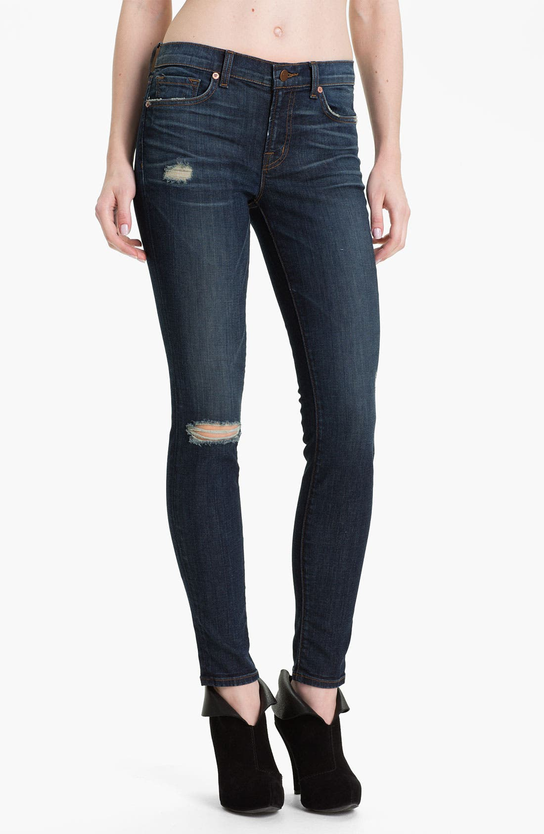 Alternate Image 1 Selected - J Brand '811' Skinny Stretch Jeans (Salem)